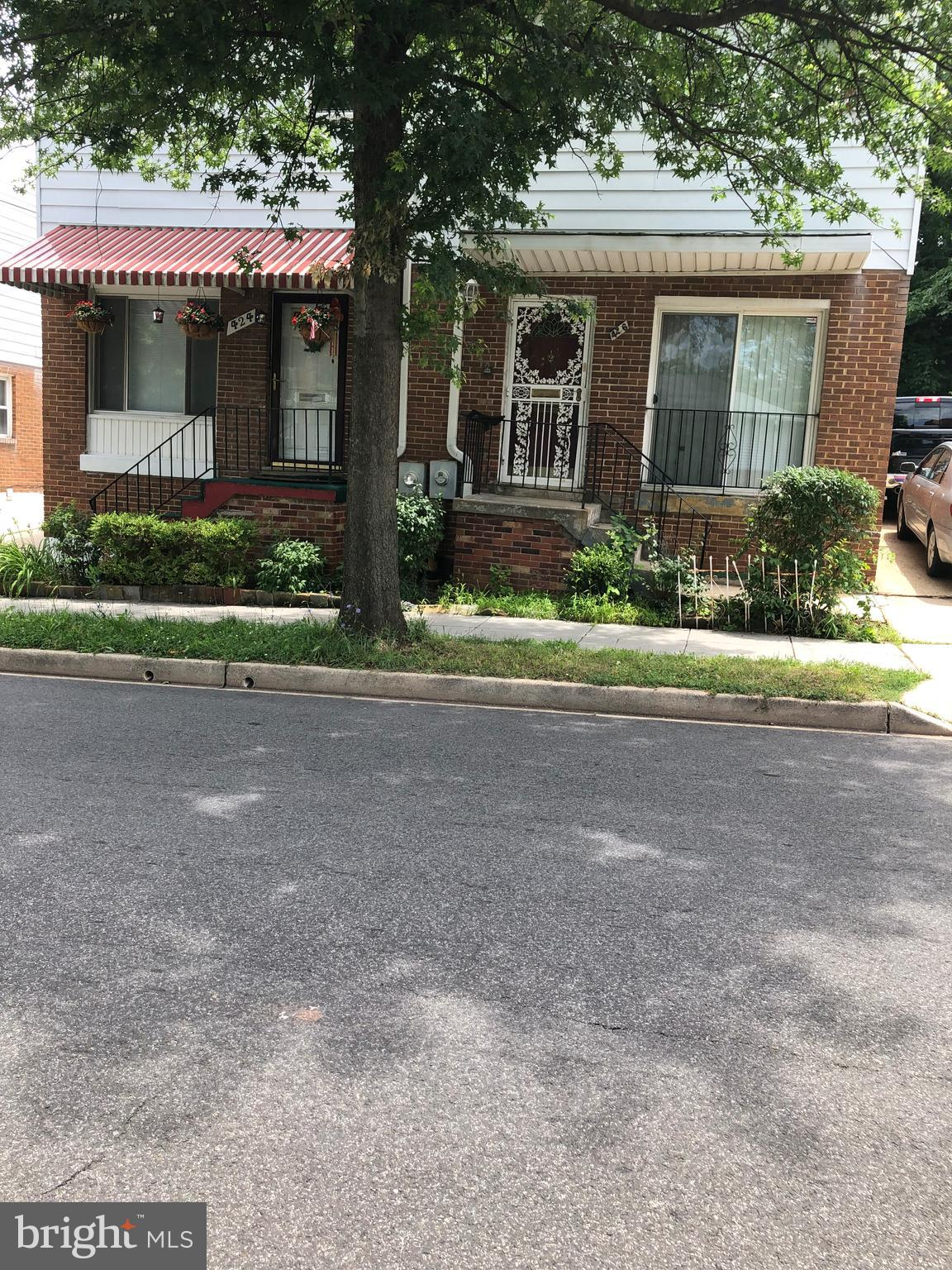 "Solid Brick House for savvy buyer/investor in sought after area. Priced to sell--""As Is"".  3 bedroom"