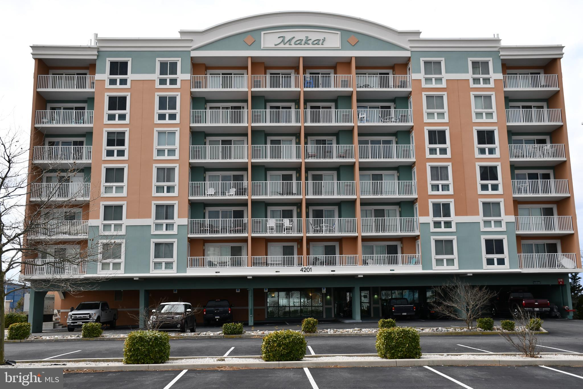 Very nicely furnished and maintained 2 BR/2 BR condo with large private balcony providing a great ba