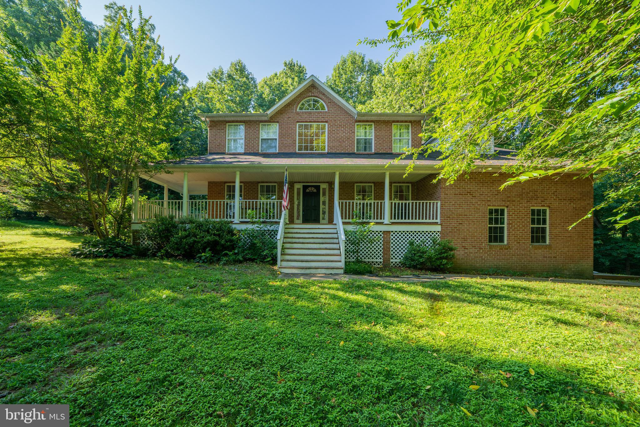 Great location at the Dunkirk/Owings line. Brick front colonial with full front porch. Owner renovat