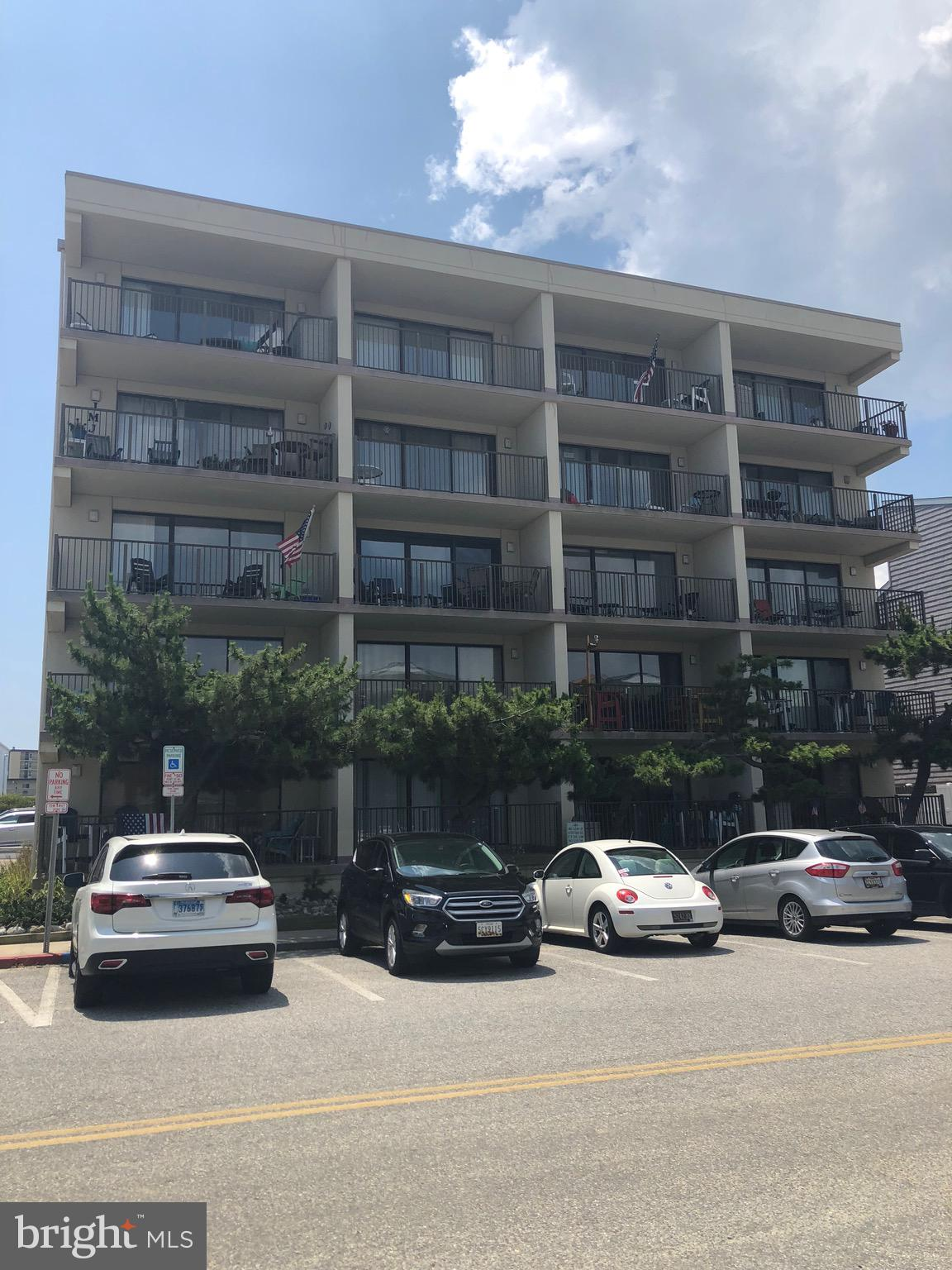 Fantastic 2BR 2FB condo only steps from the beach. A must see!!! One parking space included, sold fu