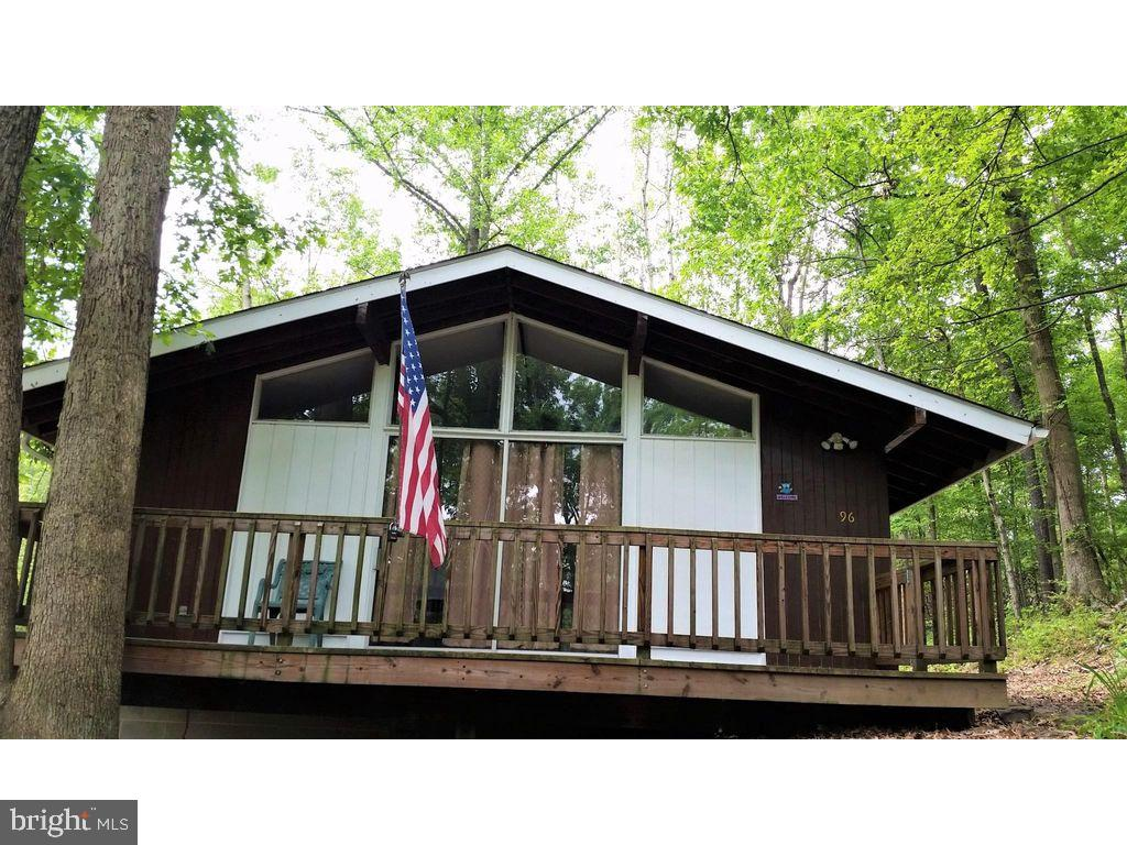 Newly remodeled 2 Bedroom, 1 Bath chalet,  on wooded lot, on state maintained road, two blocks from