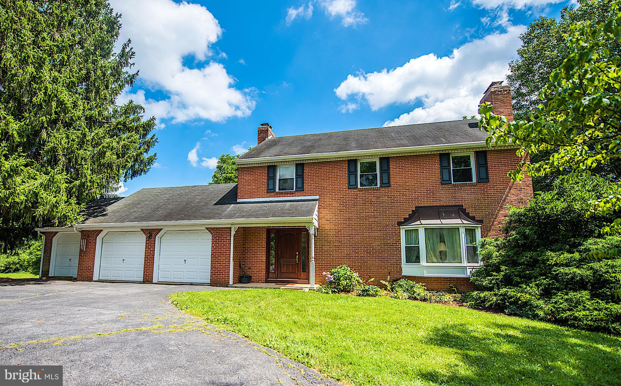 One of a kind 5 bedroom brick home with 3.5 baths set on a gorgeous acre lot. Show this beauty now!