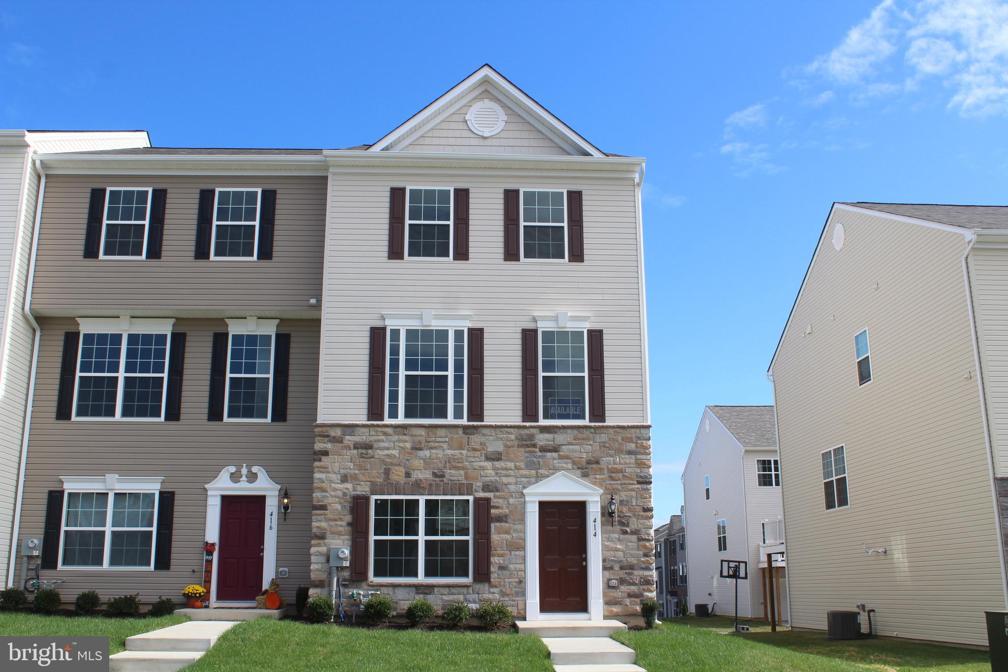 UNDER CONSTRUCTION:  2 CAR GARAGE TOWNHOME -  Set in the beautiful community of Charlestown Crossing