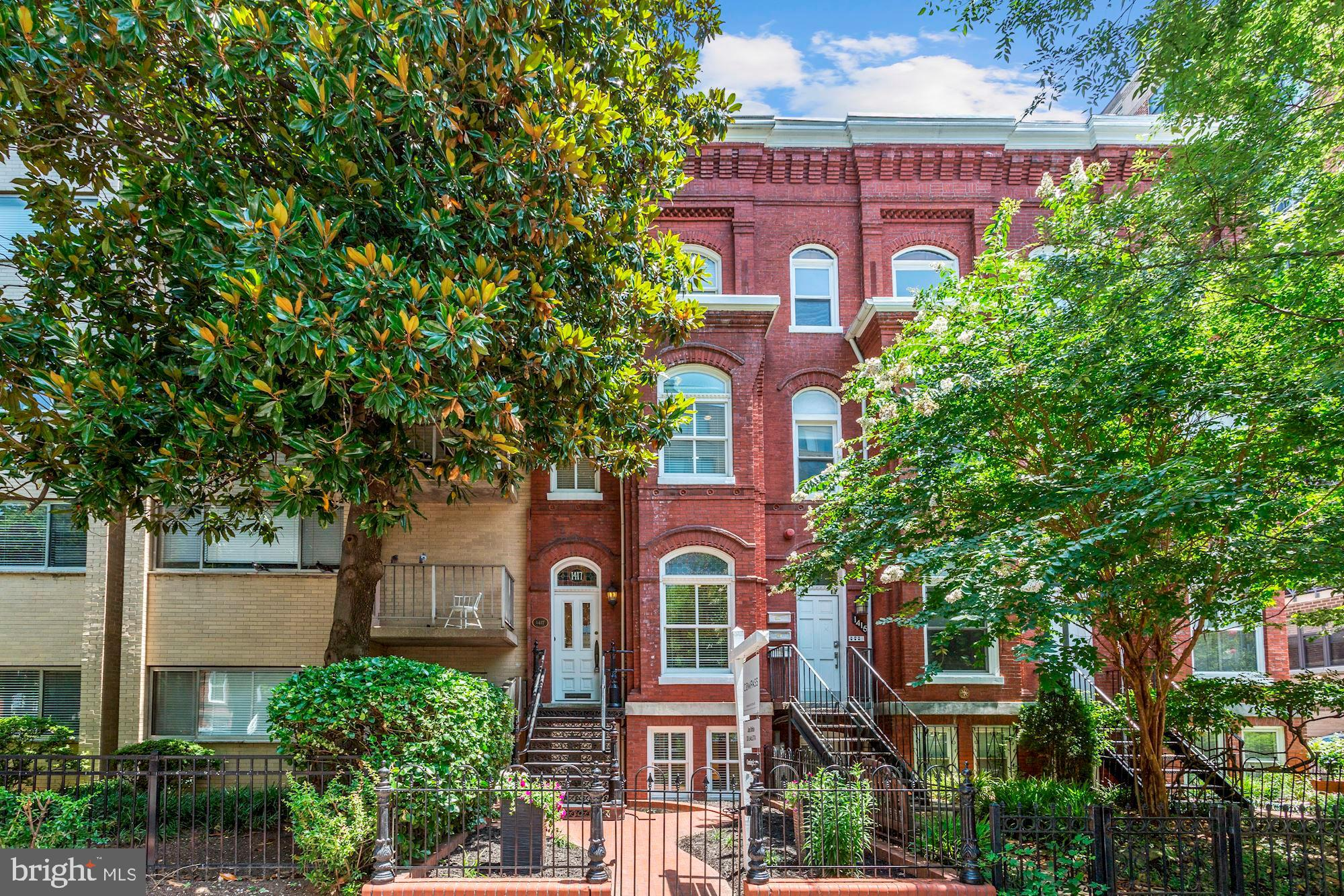 HIGH END RENOVATION in 2011 paired with one of the most sought after Dupont addresses, just 2 blocks