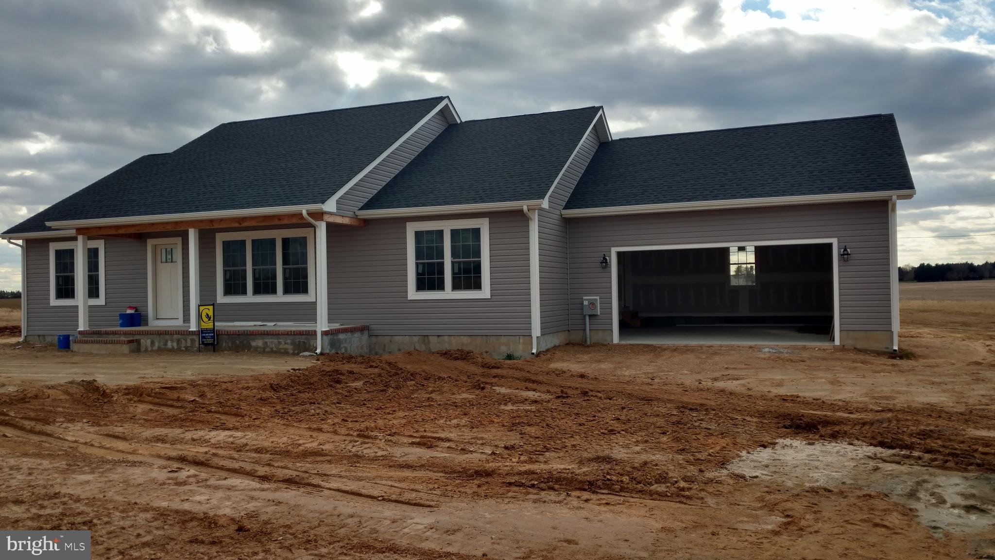 CONSTRUCTION UNDERWAY. 3 BEDROOM 2 BATH RANCHER WITH GARAGE. ONE OF 9 LOTS TWO PICK FROM. HOUSE GOIN