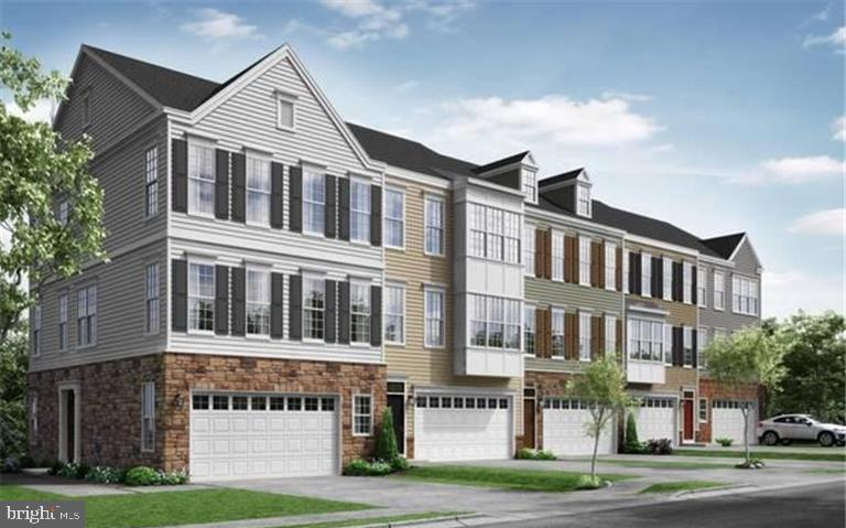 Brand New Spacious Townhome w/over 2700 Sq Ft! Featuring double french doors off of dining room, 3 s