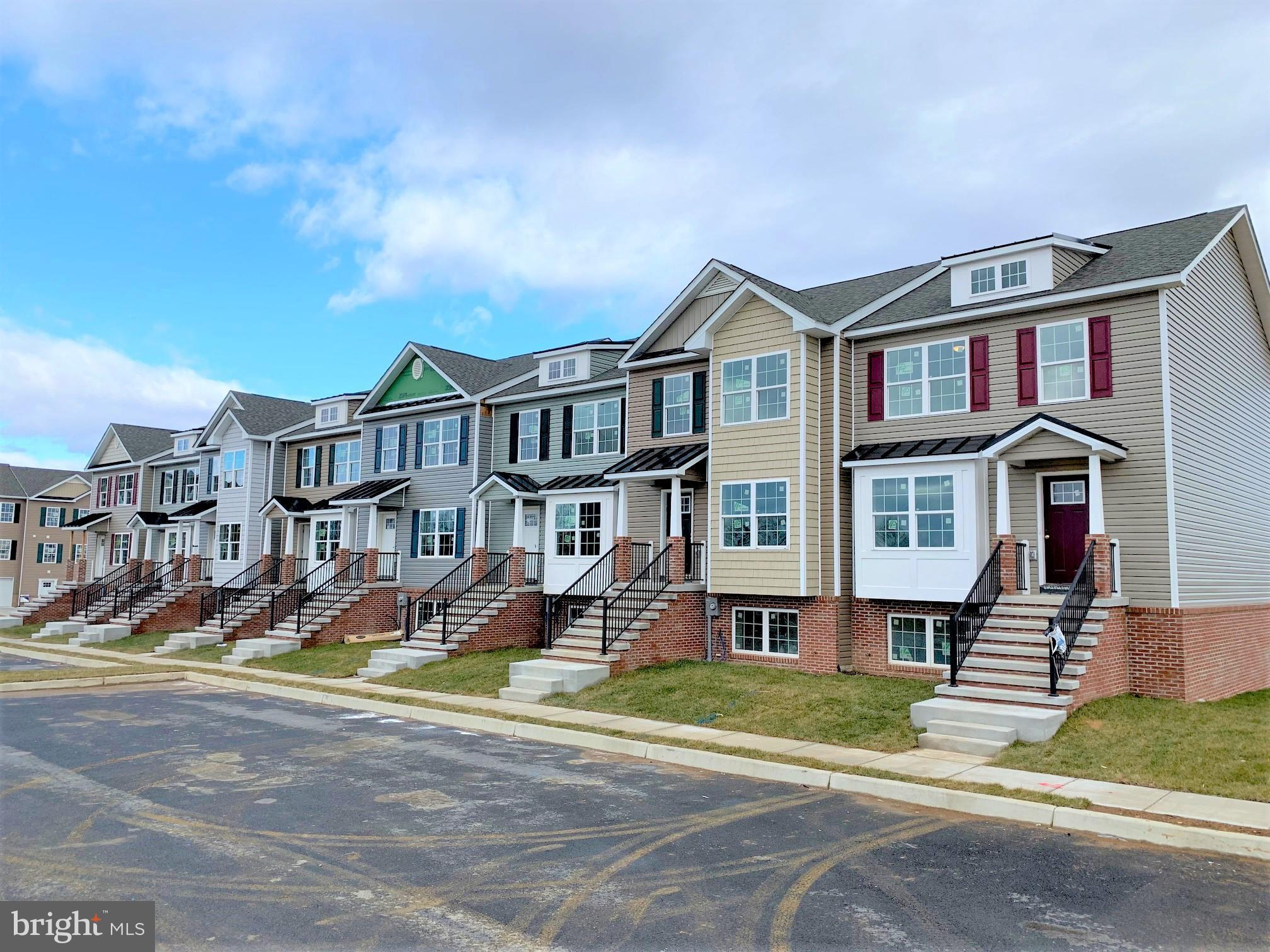 Free Deck with all contracts ratified by September 30th...New section of Town Homes under constructi