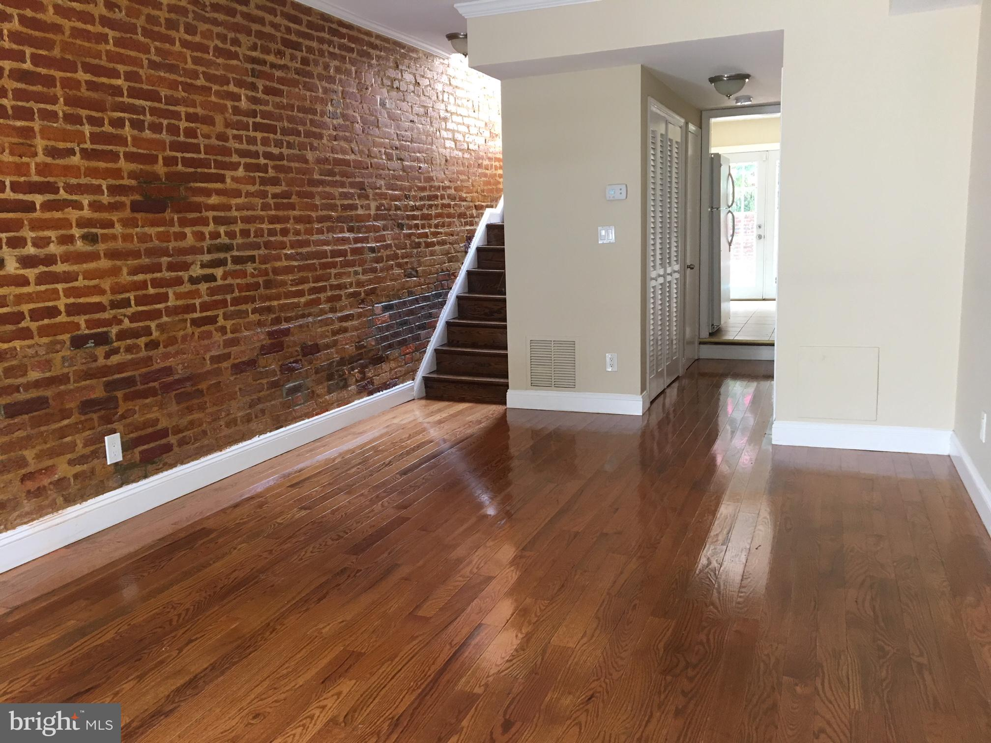 Rarely available, Charming townhouse in the heart of Tenleytown, ready for you to call home! Hardwoo