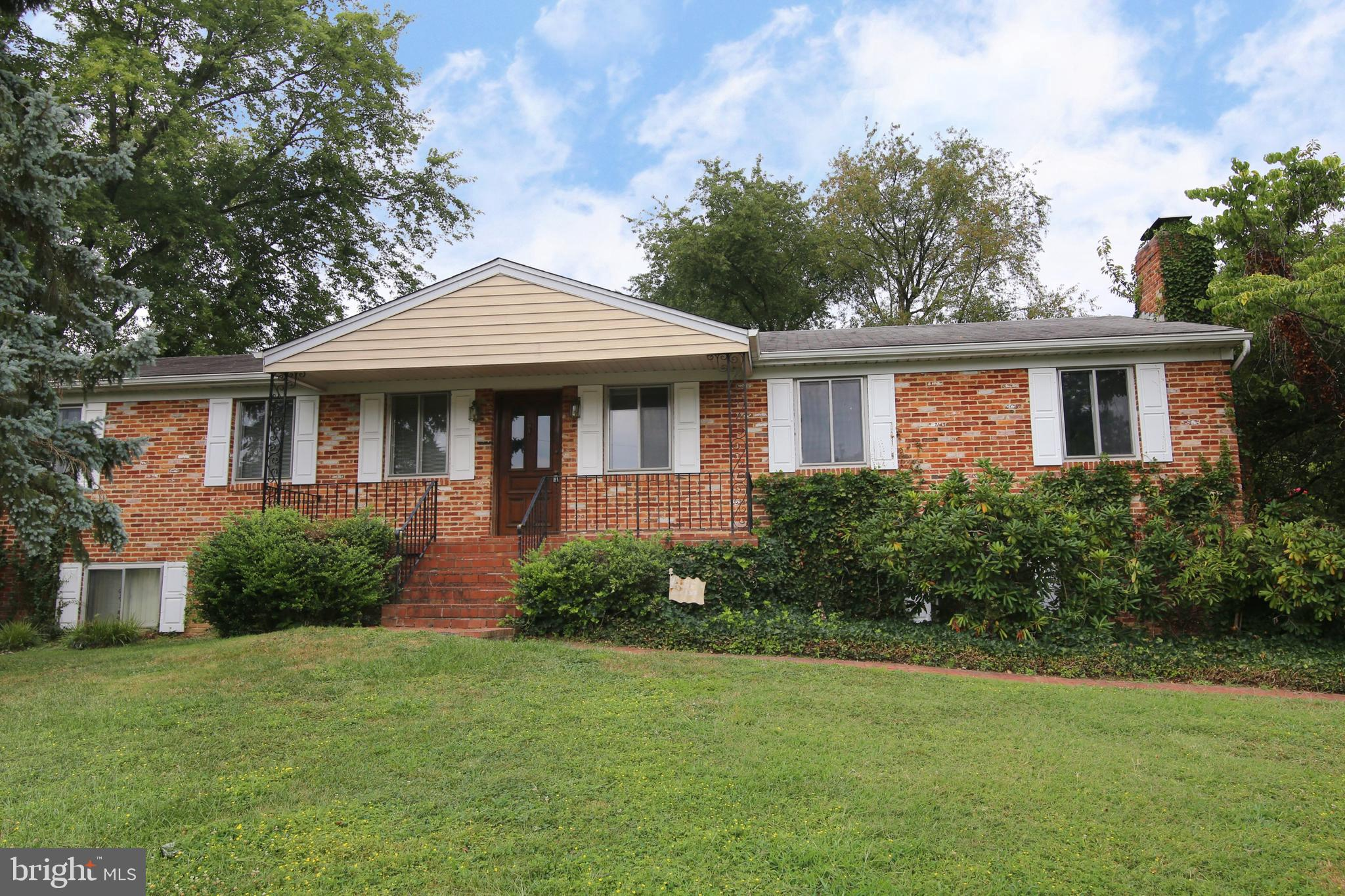Are you looking for a large (4BR's, 3.5 Baths) raised rambler home on a (.3 acre) corner lot with a