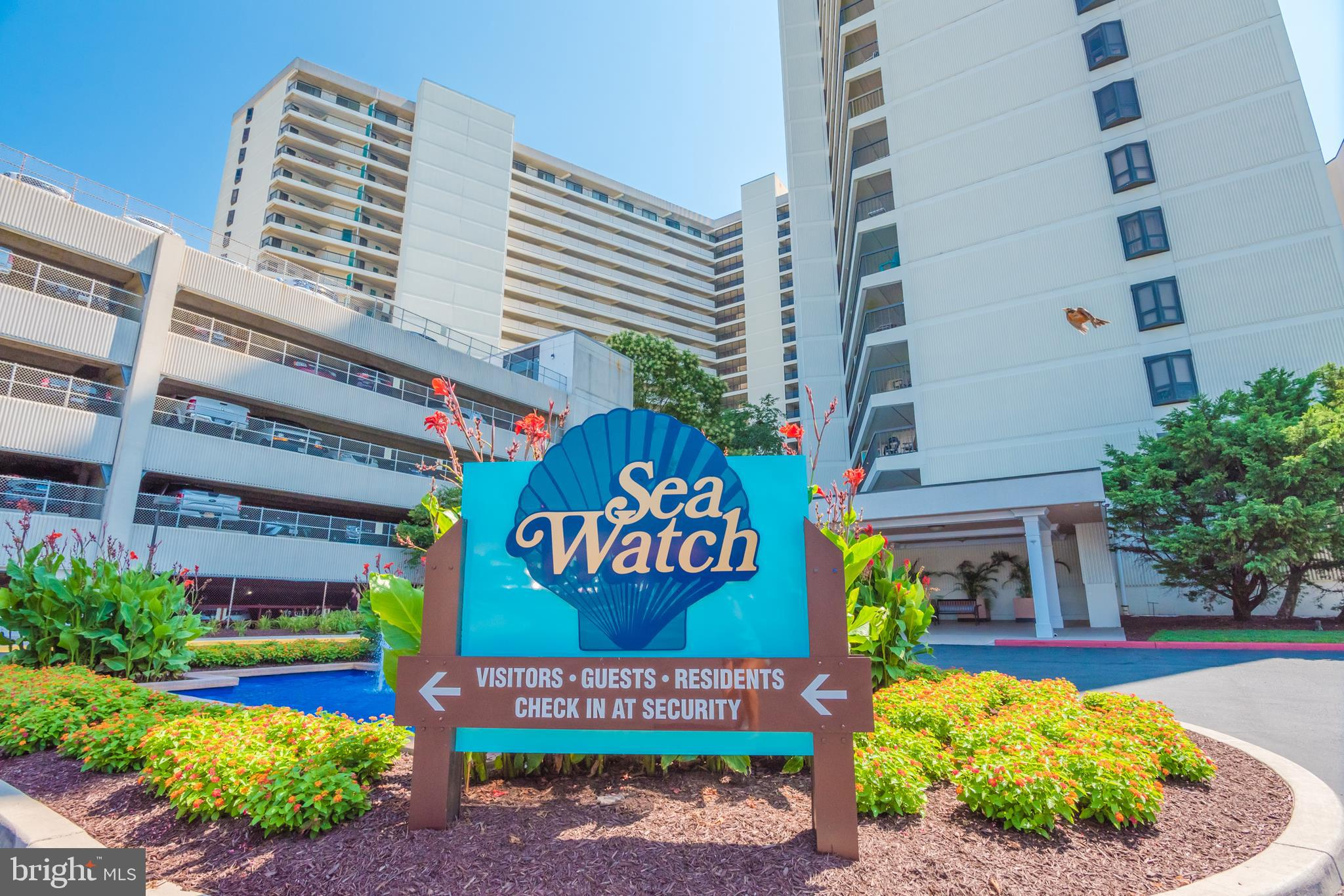 Sea Watch:  Where you get the most BANG for your BUCK!  The BEST In-house building management in ALL