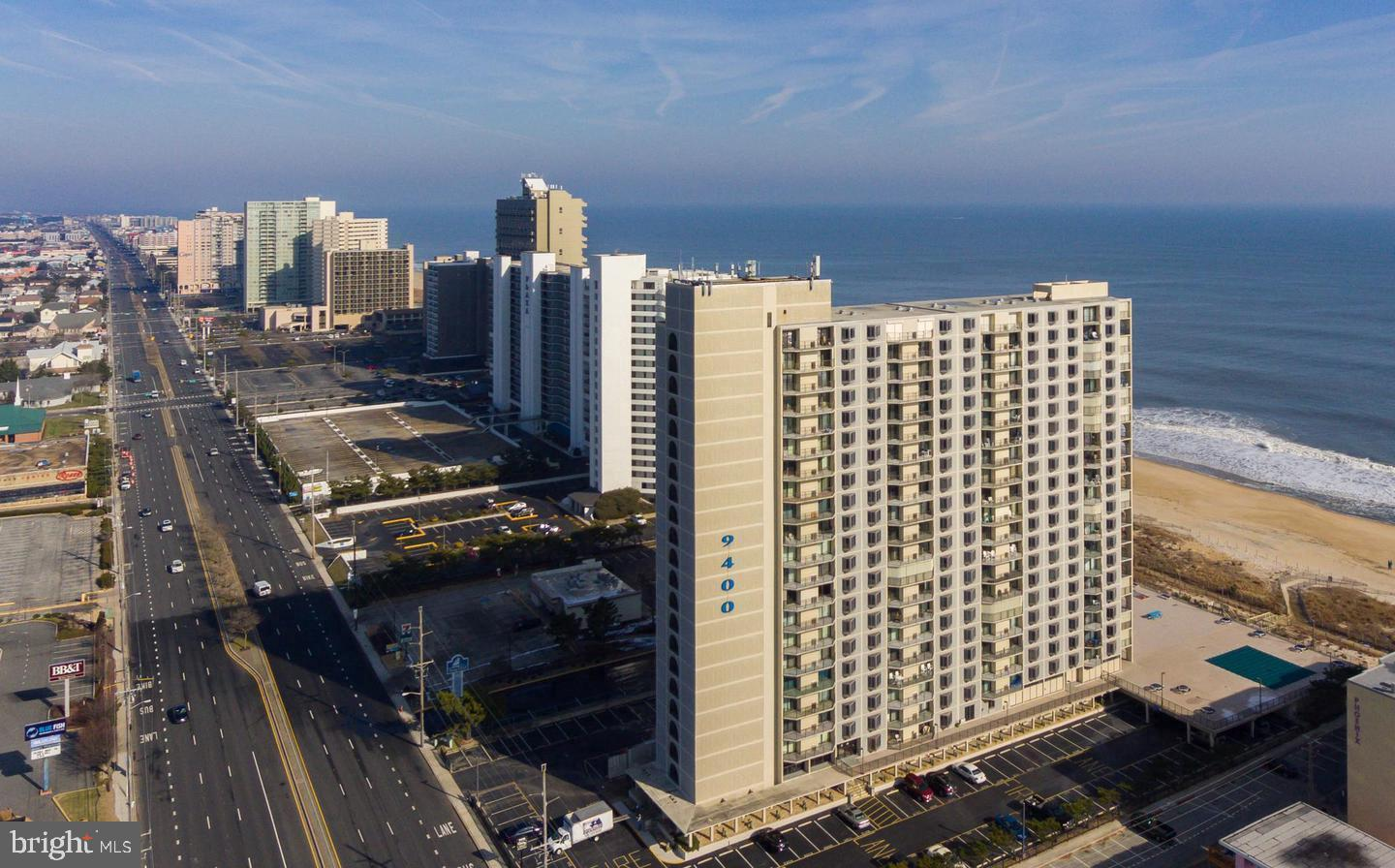 Direct Oceanfront at the 9400 Building . 2 bedroom 2 full baths make this the perfect dream home at