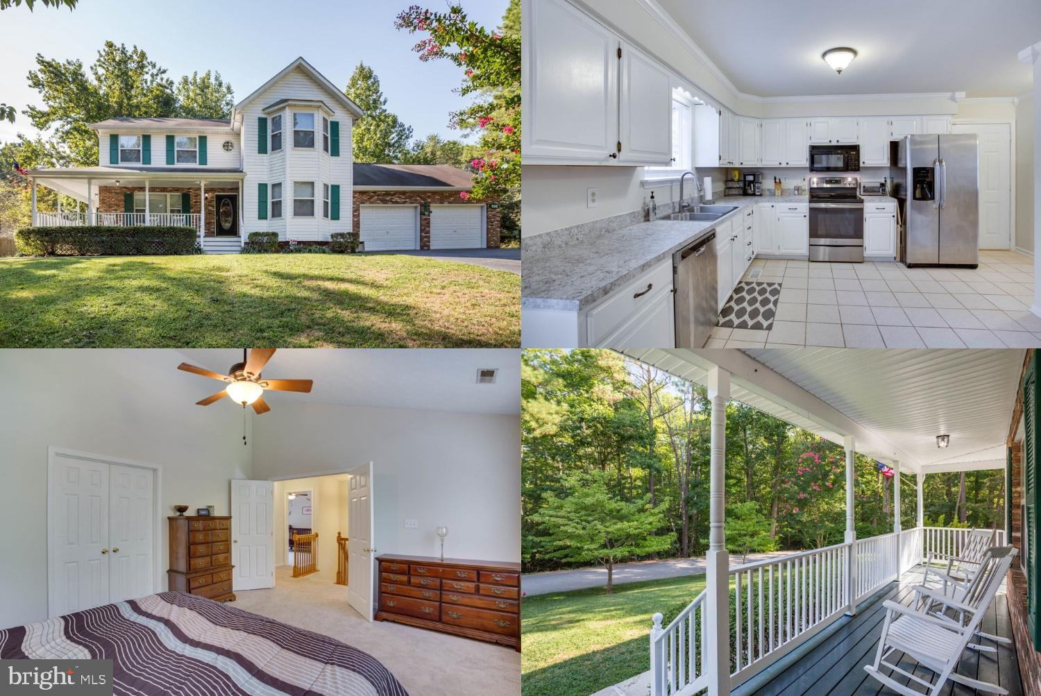 Impeccable Colonial Home in the Soundings Neighborhood. This home boasts beautiful Hardwood Floors,