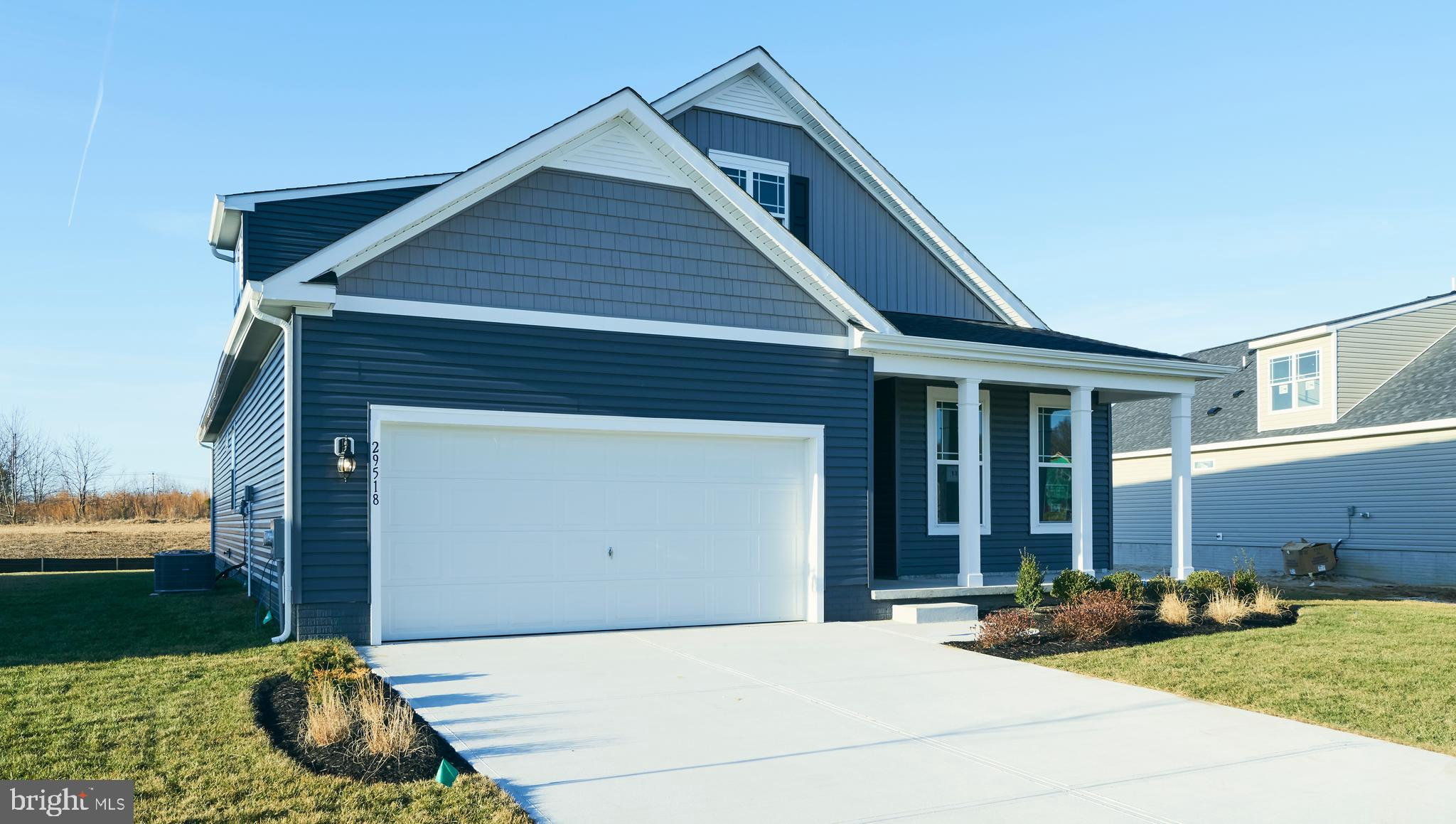 BRAND NEW, MOVE IN READY.  This Arlington ranch style home is located on a corner lot and offers 9'