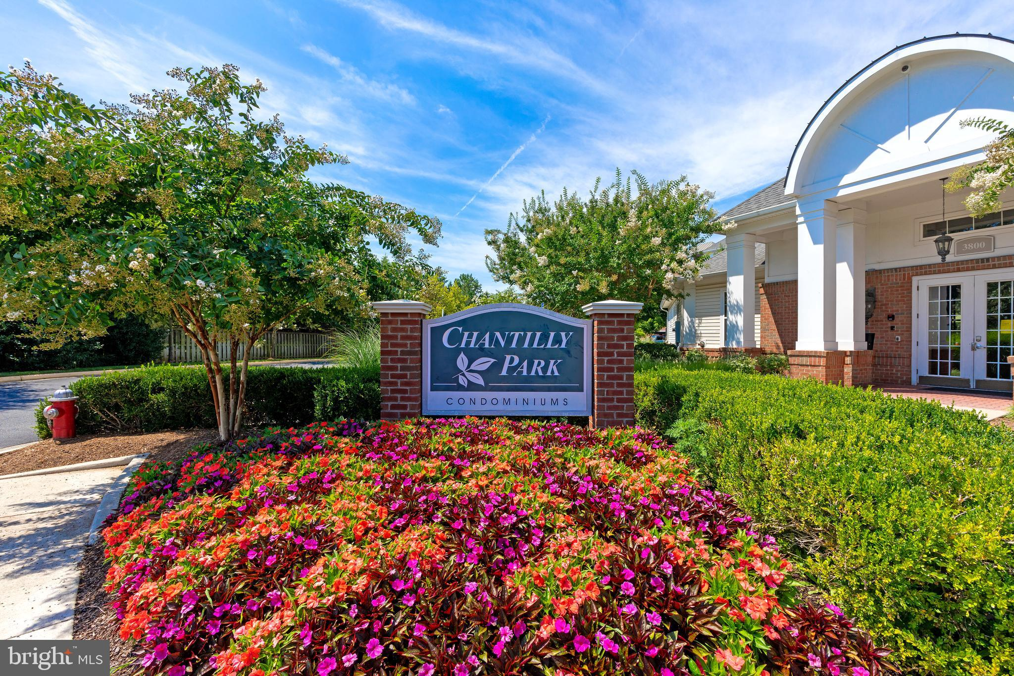 Beautiful, well-kept 2BD/2BA condo at Chantilly Park. Freshly painted & new Carpets. Bright, open fl