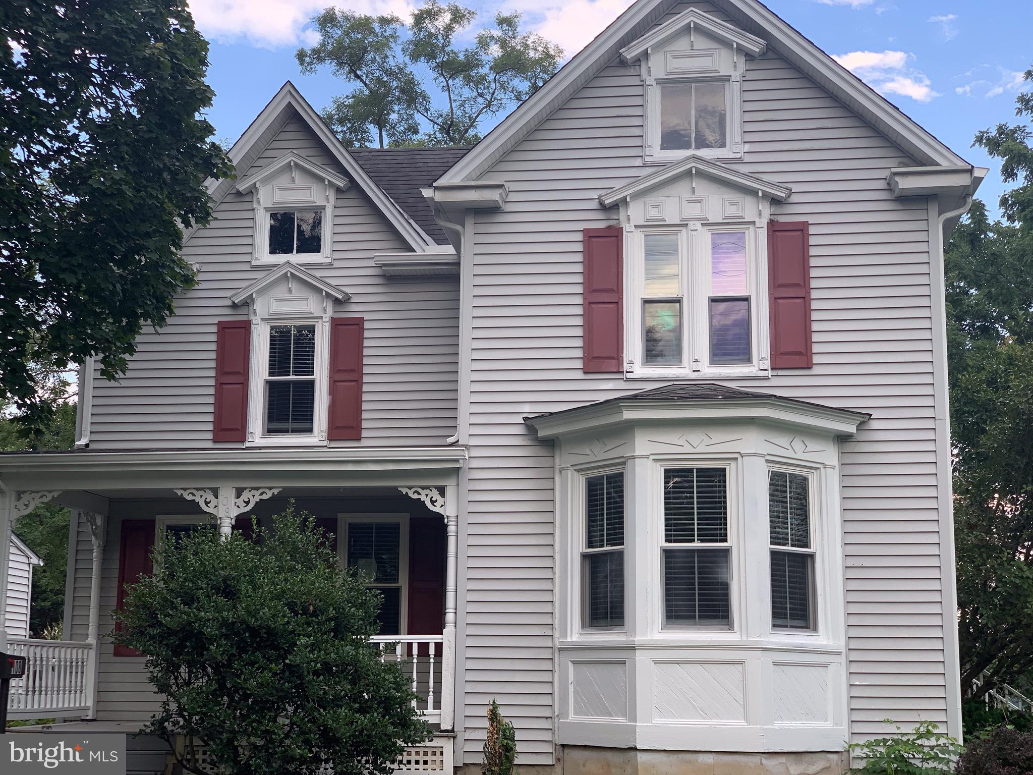 108 Front St gives you the best of both worlds; a historic Victorian home with character and charm b