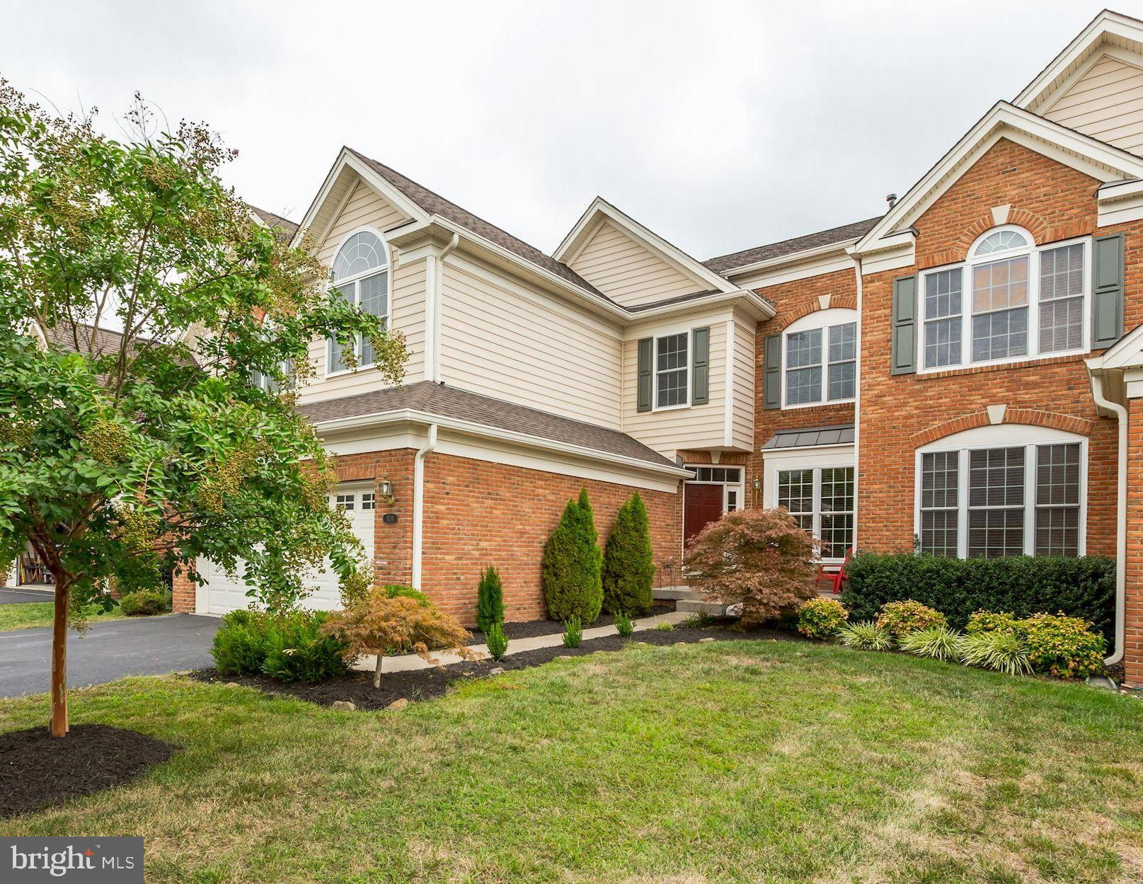 Open House 1-3 P.M. Sunday September 1st 2019-Gorgeous Attached Single Family Home in Sought After Dominion Valley Country Club-Impeccably Maintained and Upgraded Throughout-Located on a Quiet Street and backing to an Open Common area-An Extra Long Driveway and Over-sized Garage make for Ample Parking and Storage-Large Formal Spaces and a Two Story Foyer Welcome you to the Sprawling Main Level-The Interior Features Main Floor Hardwood Floors-Newly Painted Throughout with Upgraded Lighting Fixtures in all Finished Spaces-Wide Open Kitchen with Bar and Rich Cherry Cabinets-Appliances Include Double Wall Ovens, Gas Cook-top and Side-By-Side Refrigerator/Freezer-A Warm Gas Fireplace and Walls of Windows Fill the Family Room and Breakfast Room-A Spacious Mud Room with Storage Closet Welcomes You From the Garage-The Upper Level Features 4 very Large Bedrooms with Volume Ceilings-Incredible Owner's Bath Renovation That is a Must See. Huge Basement with 9-Foot Ceilings  Enjoy the Unmatched Amenities of Dominion Valley with Pools, Tennis and Basketball Courts, Miles of Trails, and Much More-The Security of a Gated Community and the Convenience of Shopping and Major Commuter Routes just Minutes Away!