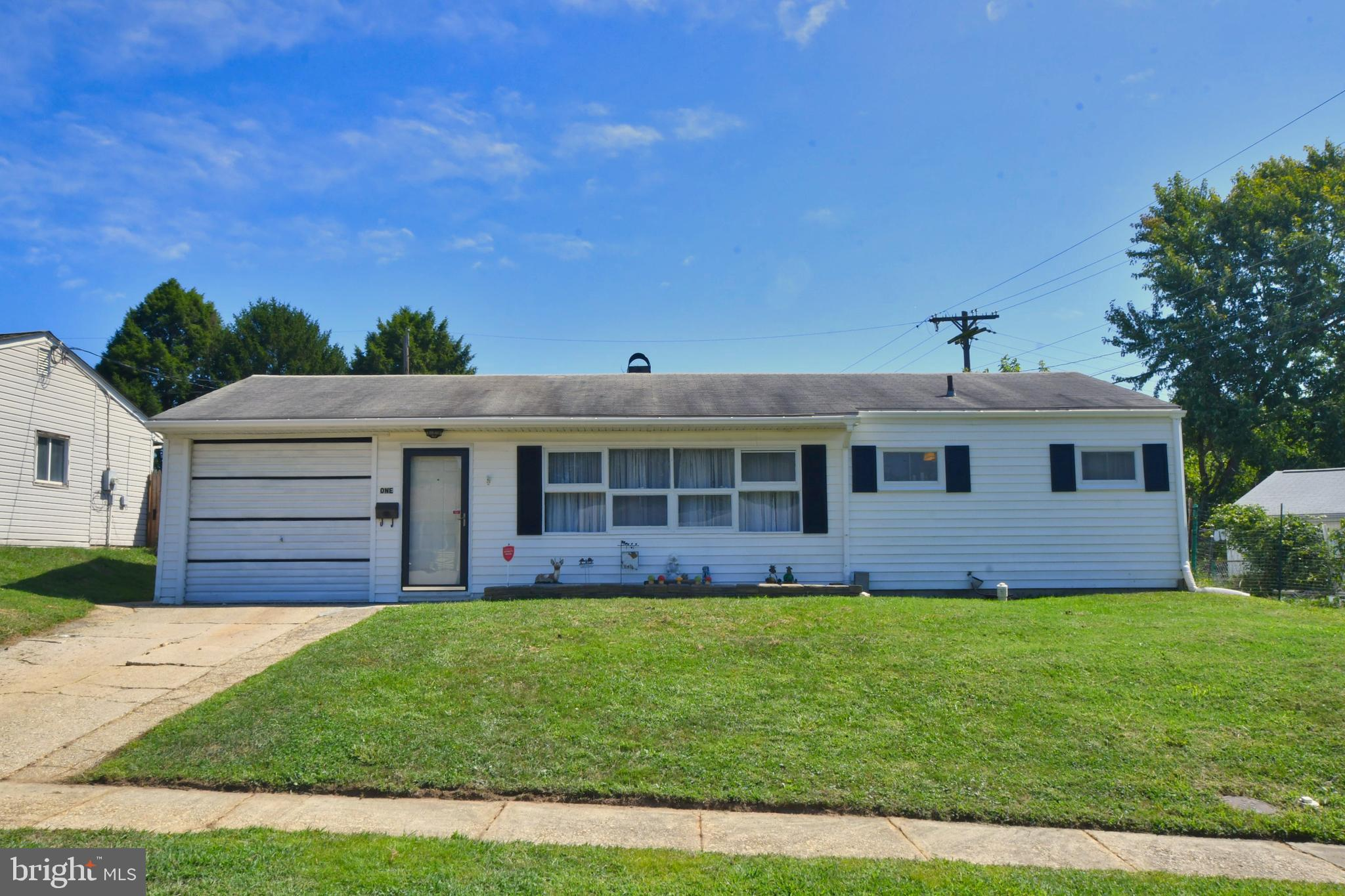 Welcome Home to this well maintained 4 bedroom/1 bath Rancher in Elkton.  Close to major roads for e