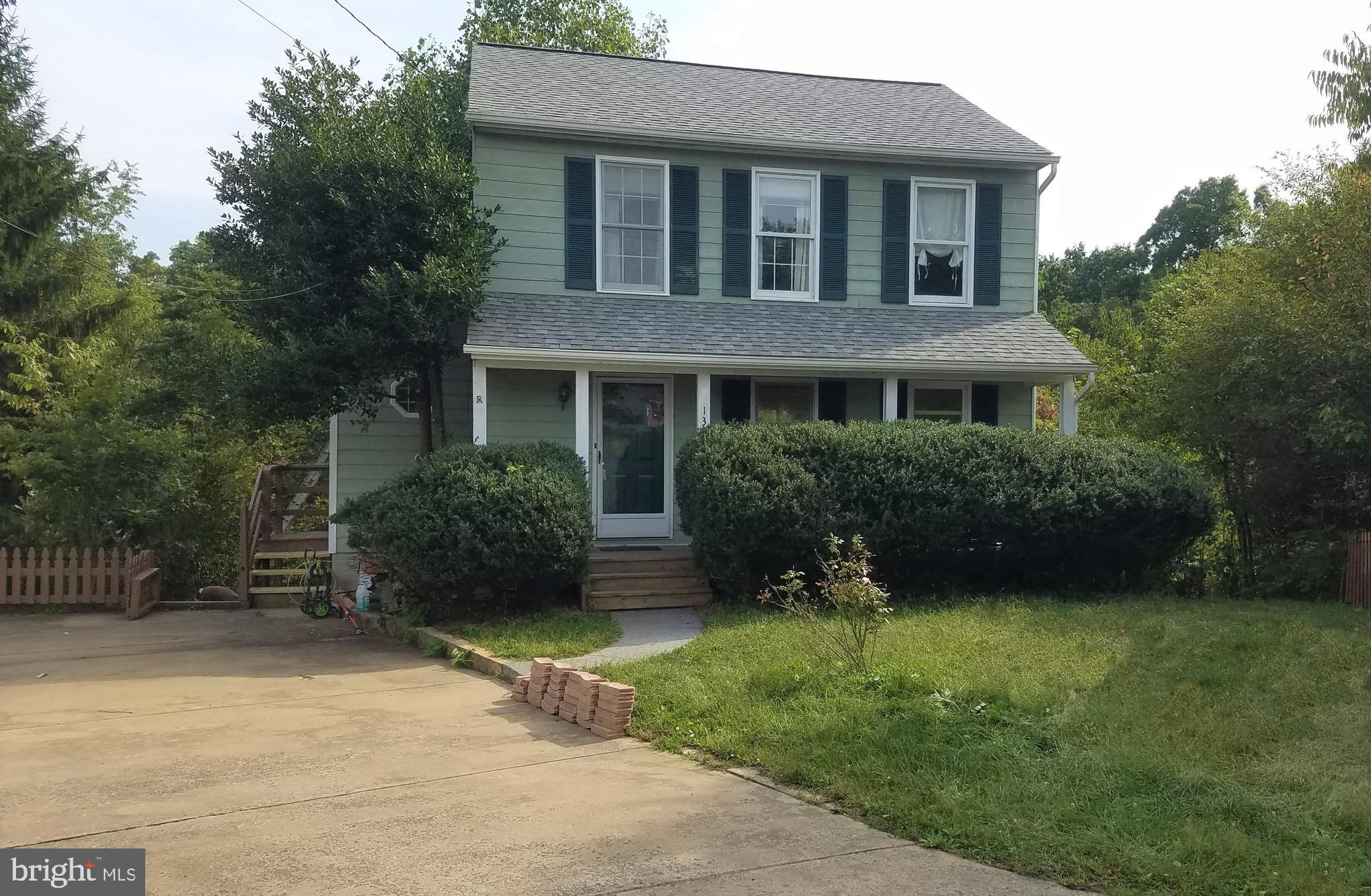 Charming 3 bedroom 2.5 bathroom home on a cul-de-sac  in desirable Eastern Frederick County. Open Ea