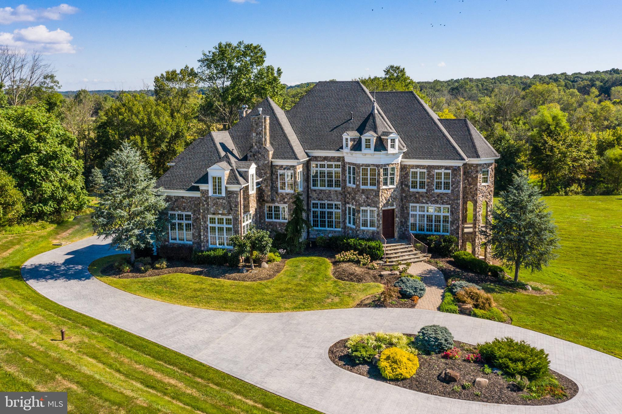 Come see this gorgeous equestrian ready 8,800 sqft. 7 bedroom, 6 bath custom French Chateau estate.