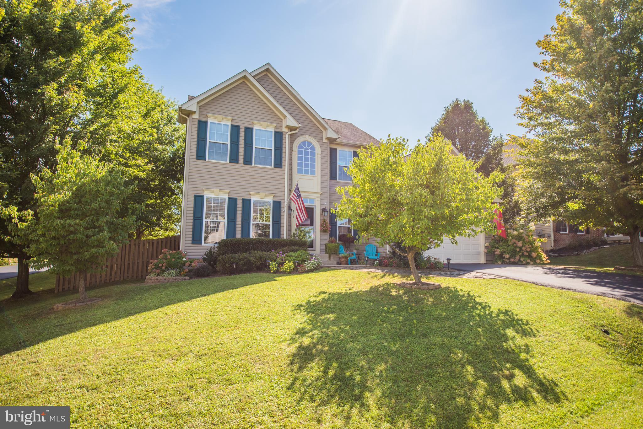 Move-in ready, well-maintained, 5 BR 3.1 Bathroom, corner lot which is mostly fenced with 6' wood fe