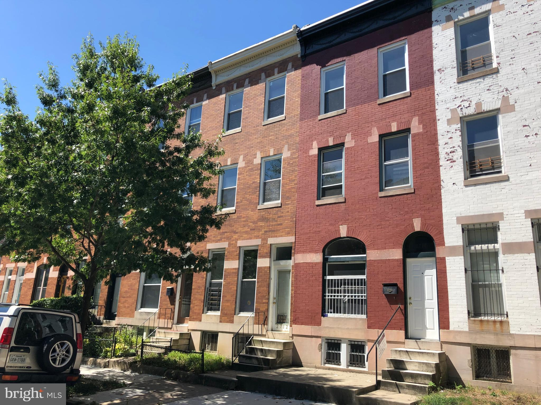 Imagine the possibilities with a 3-story Charles Village rowhouse in a prime location within blocks