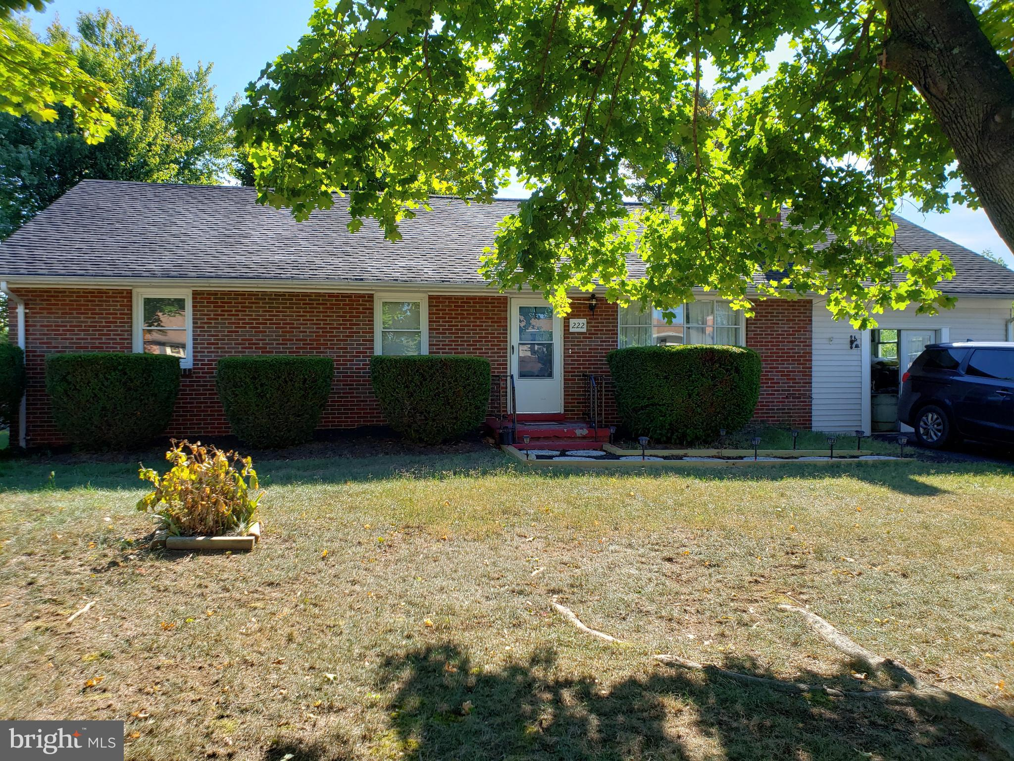 Great Quiet Location.  Spacious 4 Bedroom 2.5 Baths Brick Rancher with so much to offer.  Closed in