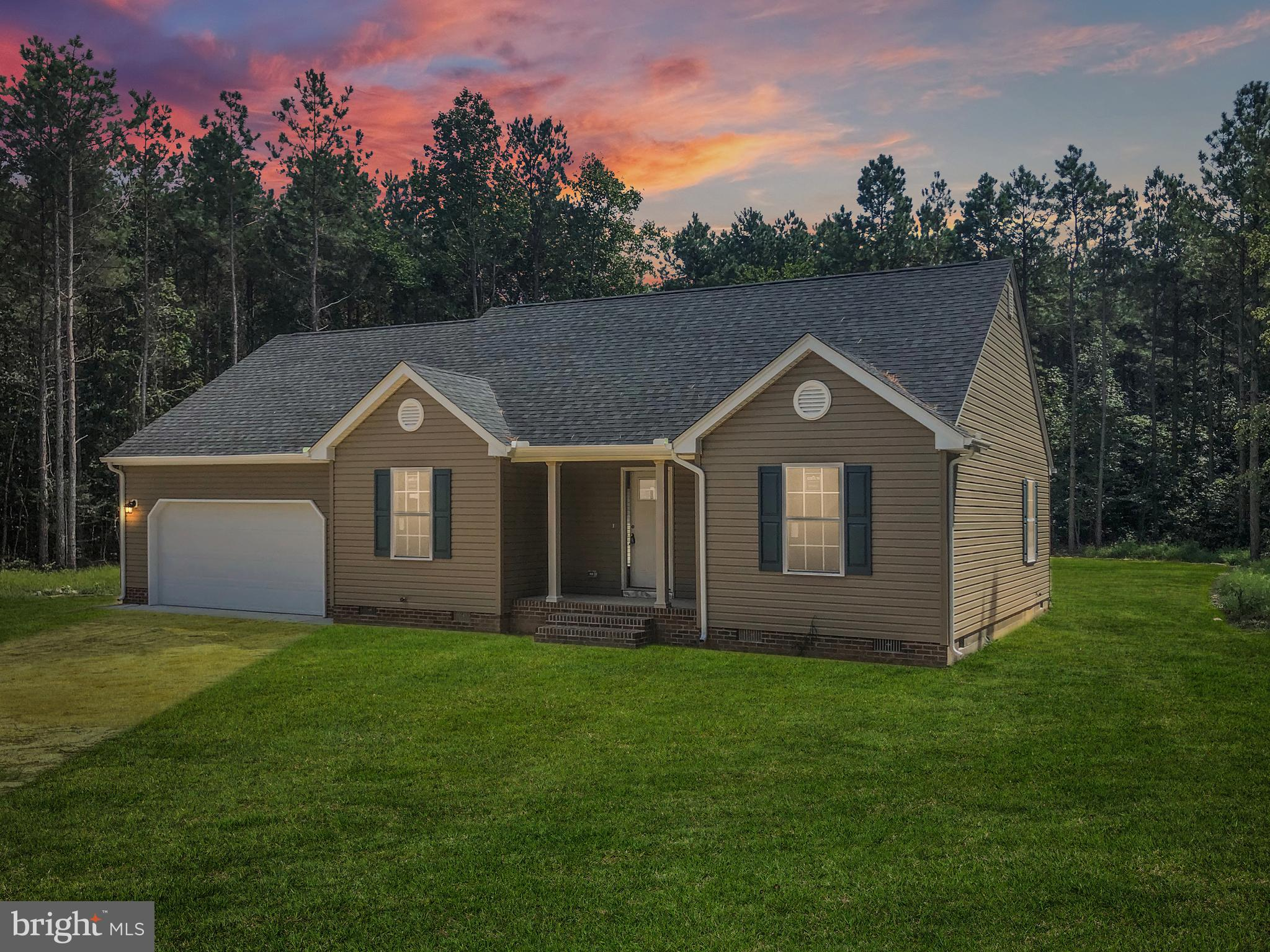 New construction rancher style home located in Clearbrooke Estates.  Open concept living, spacious k