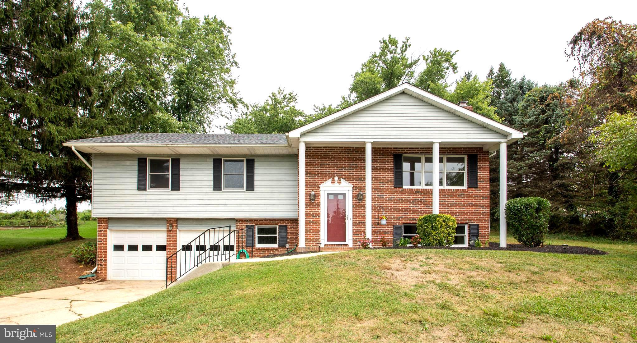 Great four bedroom 2.5 bath home situated on .44 acres in Fallston school district! This home featur