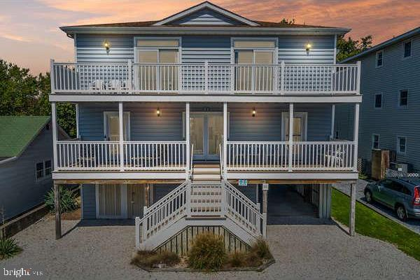 Outstanding opportunity in Dewey Beach!   This property consists of two units, both of which are ava