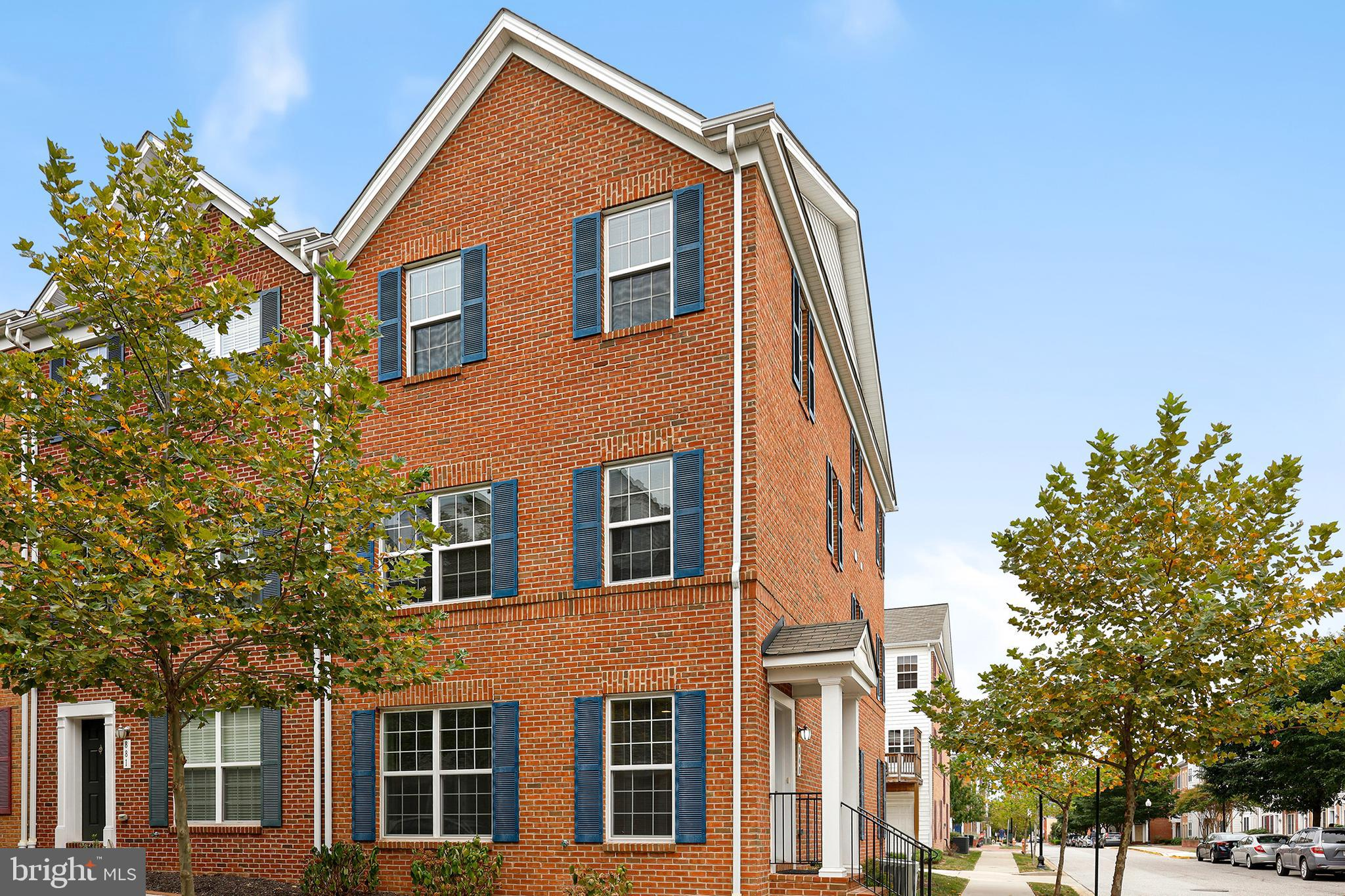 You'll be dazzled by this end of group two-car garage townhome in Camden Crossing! Gourmet kitchen w