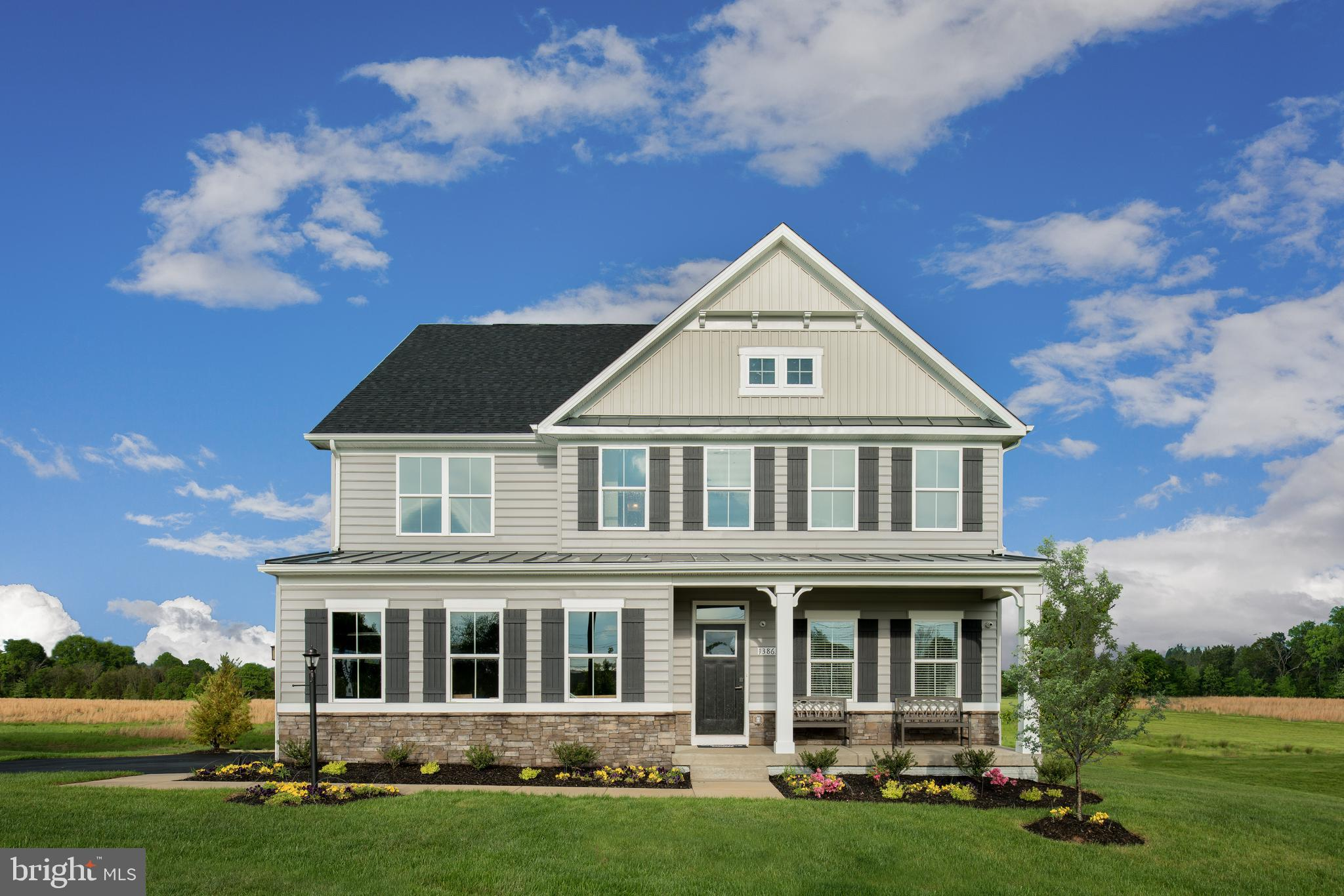Beautiful Model Home for Sale! The York is an open floor plan w/ main level library, first floor bed