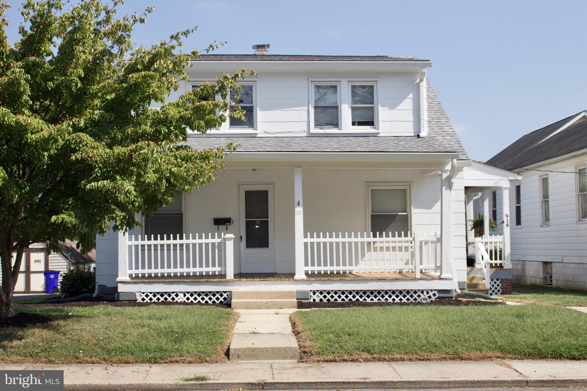 This rare investment opportunity now can be yours!  Two-Unit Charming Cape Cod style home with refur