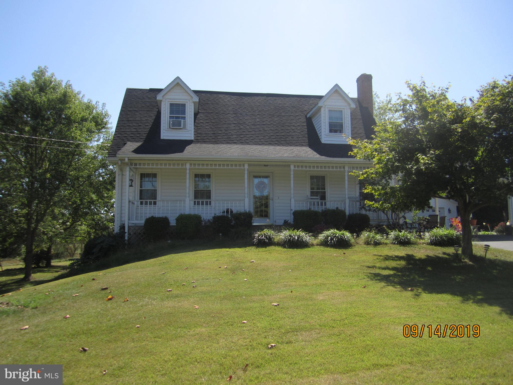 Welcome home! This beautiful well maintained cape cod sitting on over 2 acres in a country setting h