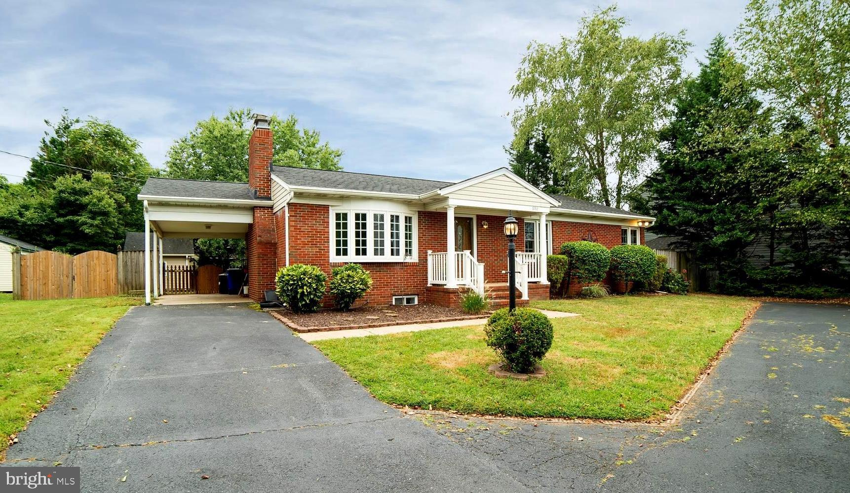 Well maintained and updated all brick ranch style home on a private lot in Elkridge. Wonderful archi