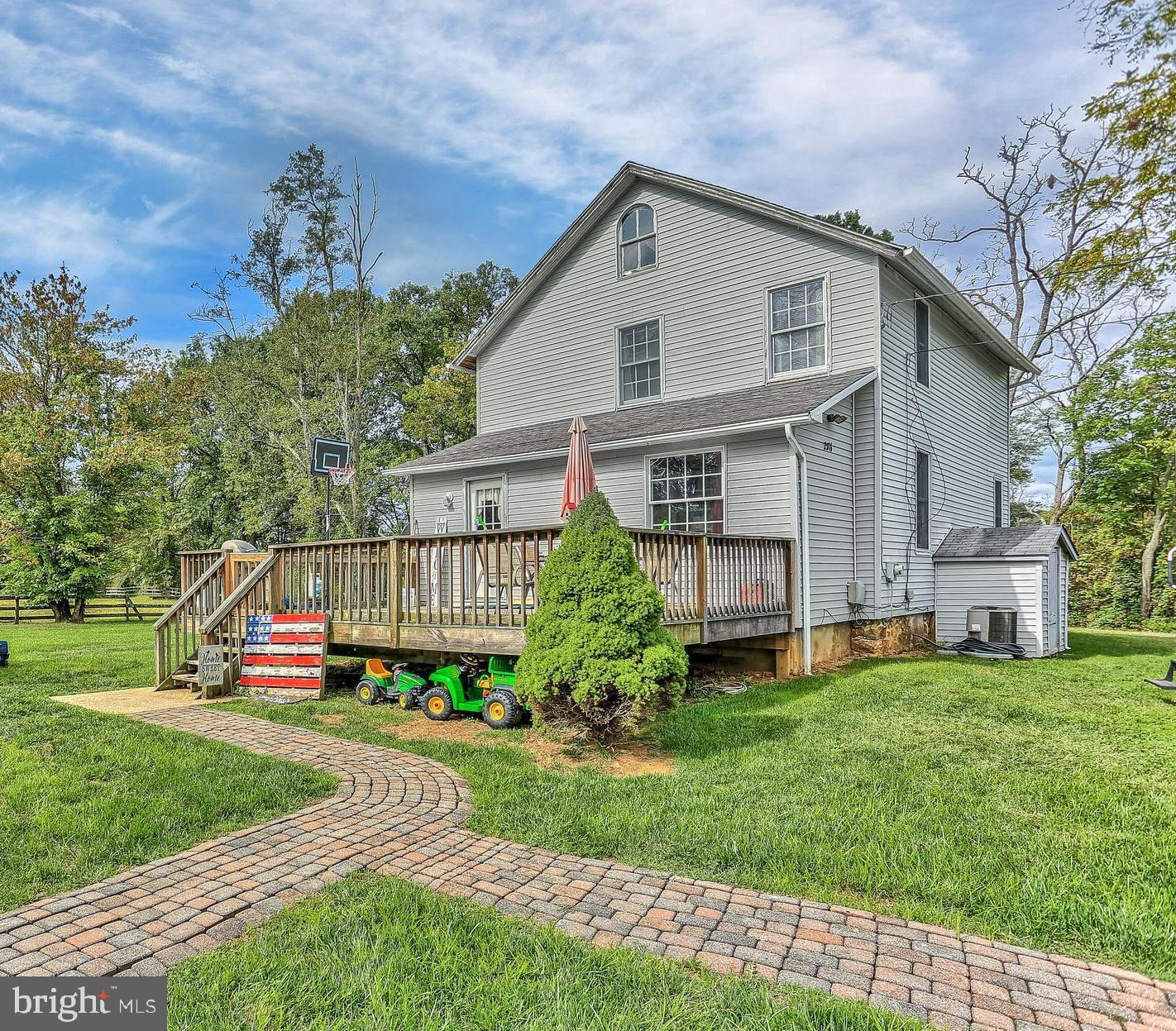 Old world charm with modern conveniences. This home boasts many updates but has kept that country ap