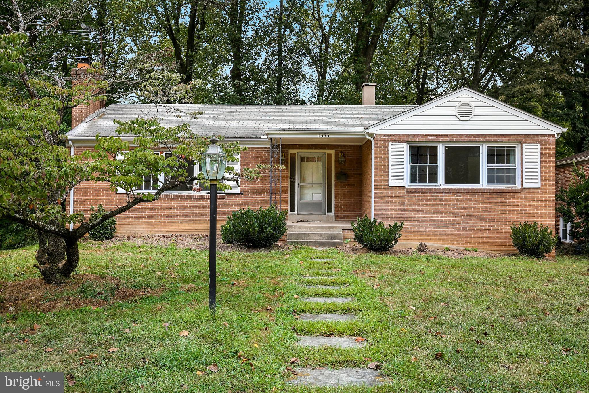 Large brick Ranch/Rambler located in the Woodside Forest subdivision of Silver Spring. This 3 bedroo