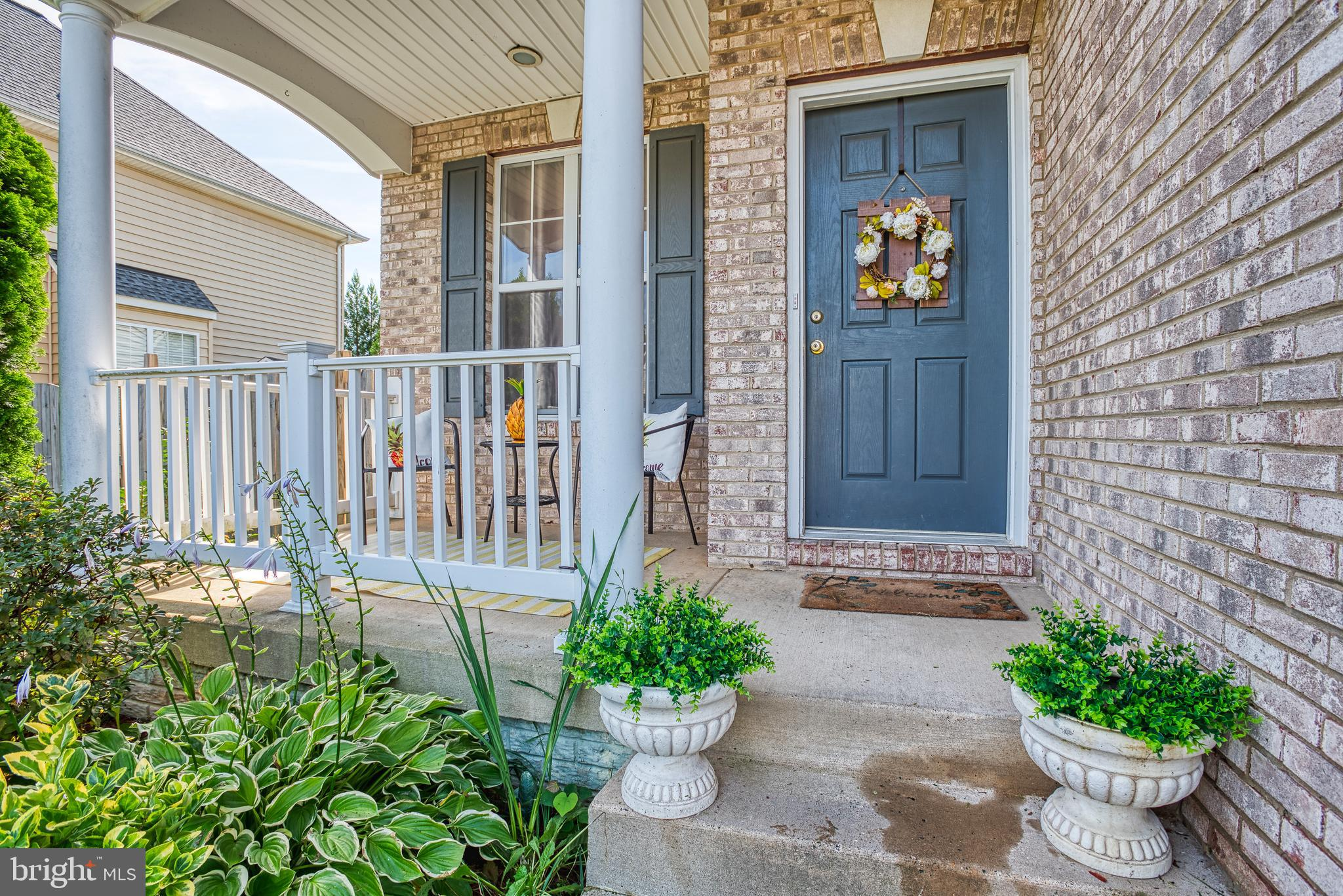Gorgeous  3bd 3 1/2 Bath home with hardwood floors T/O first floor. Fully finished basement w/ extra room being used as 4th bedroom. S/S Appliances and Granite in sleek kitchen. Deck and fully fenced and private wooded backyard. Will not last!