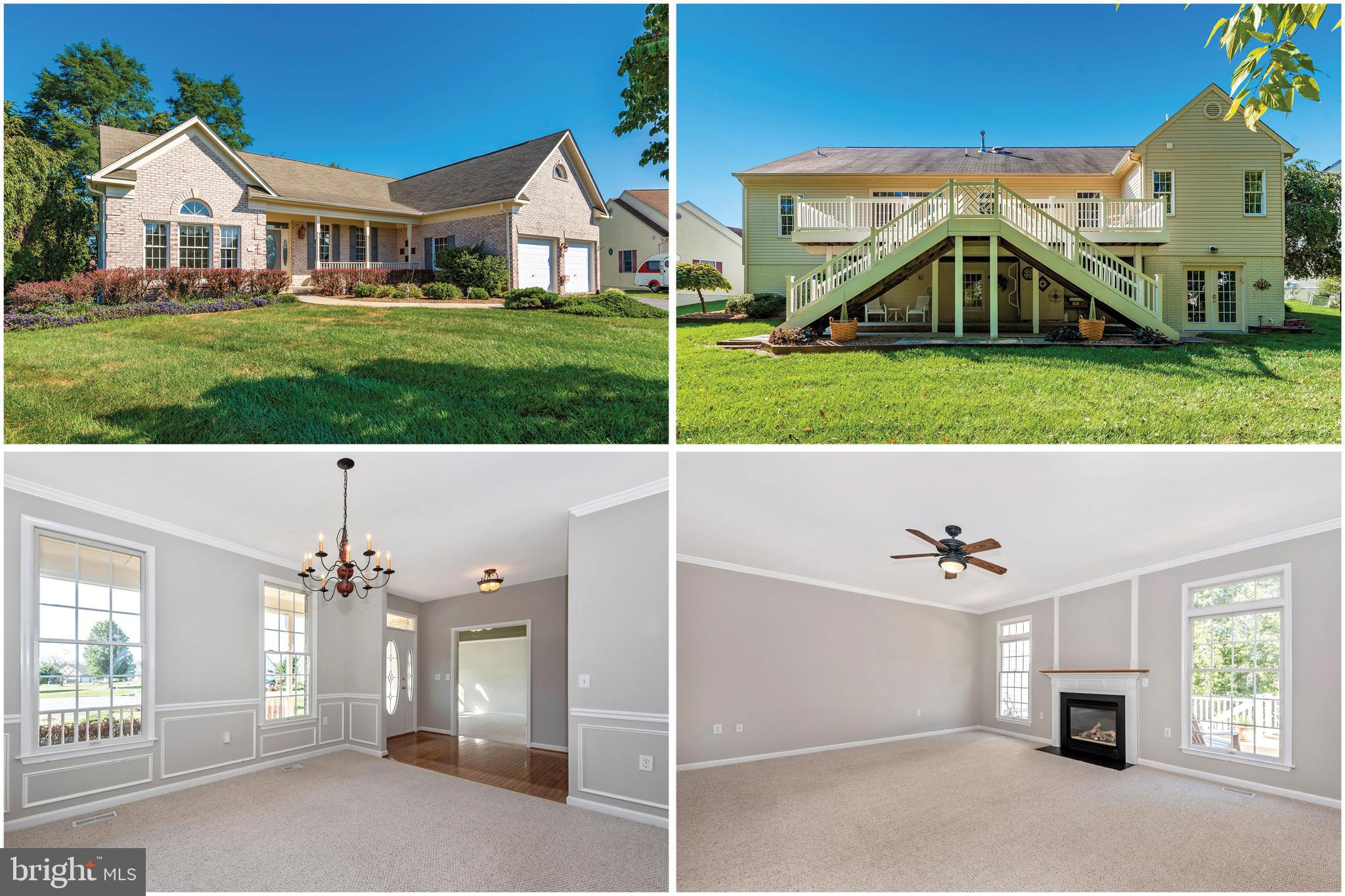 Beautiful Raised Rancher with 3600 sq ft plus, very spacious and open with tons of windows bringing