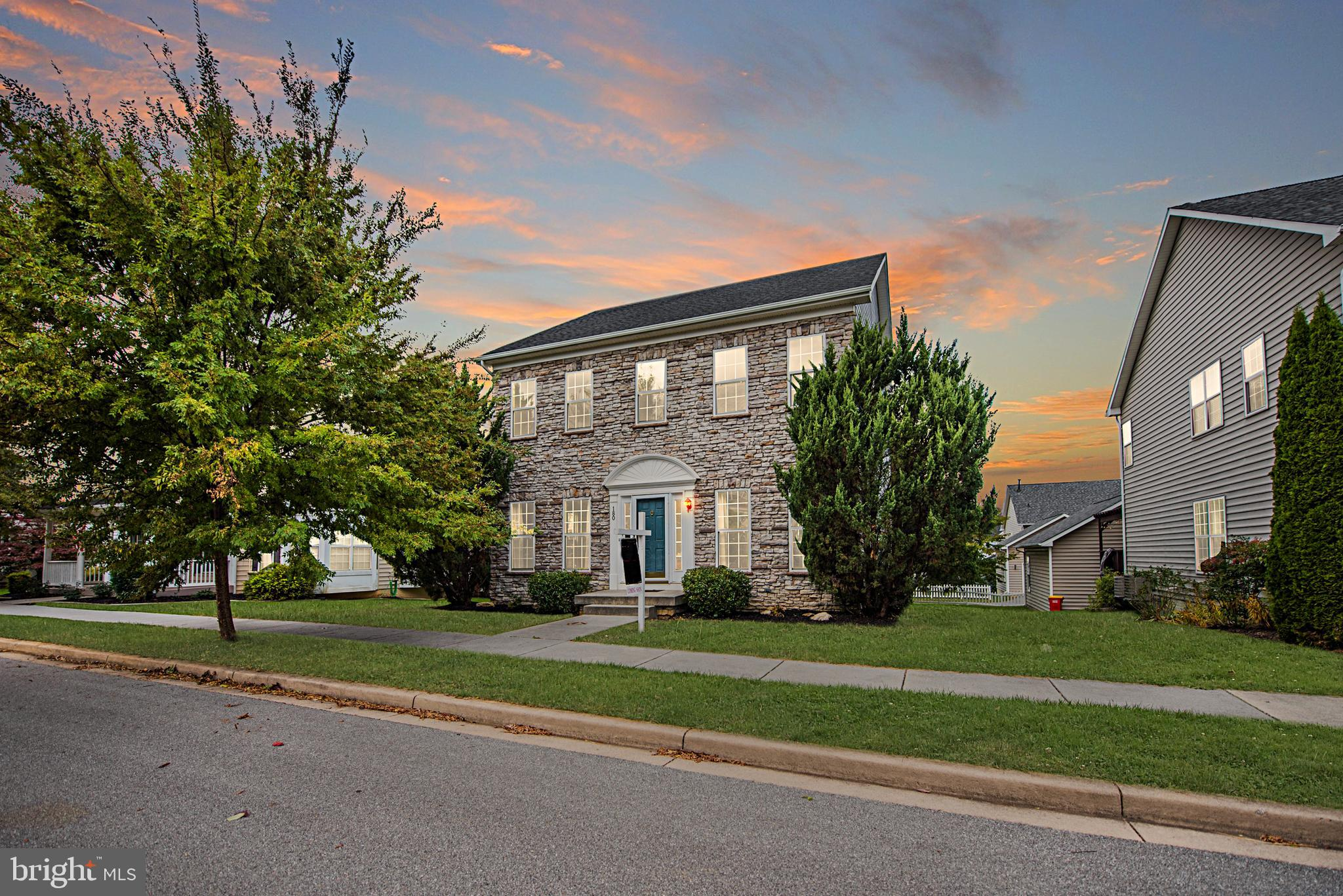 Fabulously priced in Huntfield! 4 bd/2.5 ba Stacked Stone Front Colonial ideally located in Charles