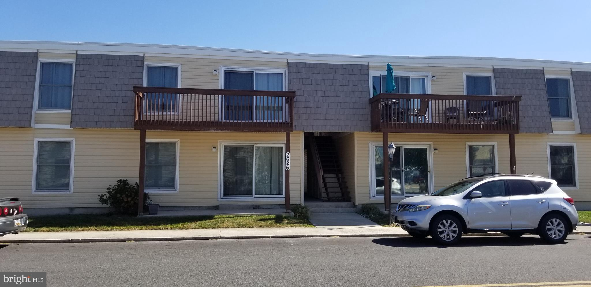 "Lovingly maintained and never rented, one owner for 21 years. A two-bedroom top floor condo in the heart of Ocean City! Convenient walk to the beach, boardwalk, and amusements. Move-in ready with new kitchen counters, backsplash, and flooring. New Deck with 2x4s and stain. Interior Painted in 2019. Floors replaced in 2017. all seams caulked. New tile in 2017 in bathroom and ""super flush"" commode installed. Fully furnished. Strong association with the resident manager on-site, outdoor pool, plus owner storage unit in the bldg. Great income potential. Don't miss this opportunity! This is a bang for the buck! This affordable well cared for 2 bedrooms 1 bath won't last. Many owners have added a half bath and washer/dryer for well under $7,000.00. Good rental potential for investment interest. NO washer dryer in this unit"