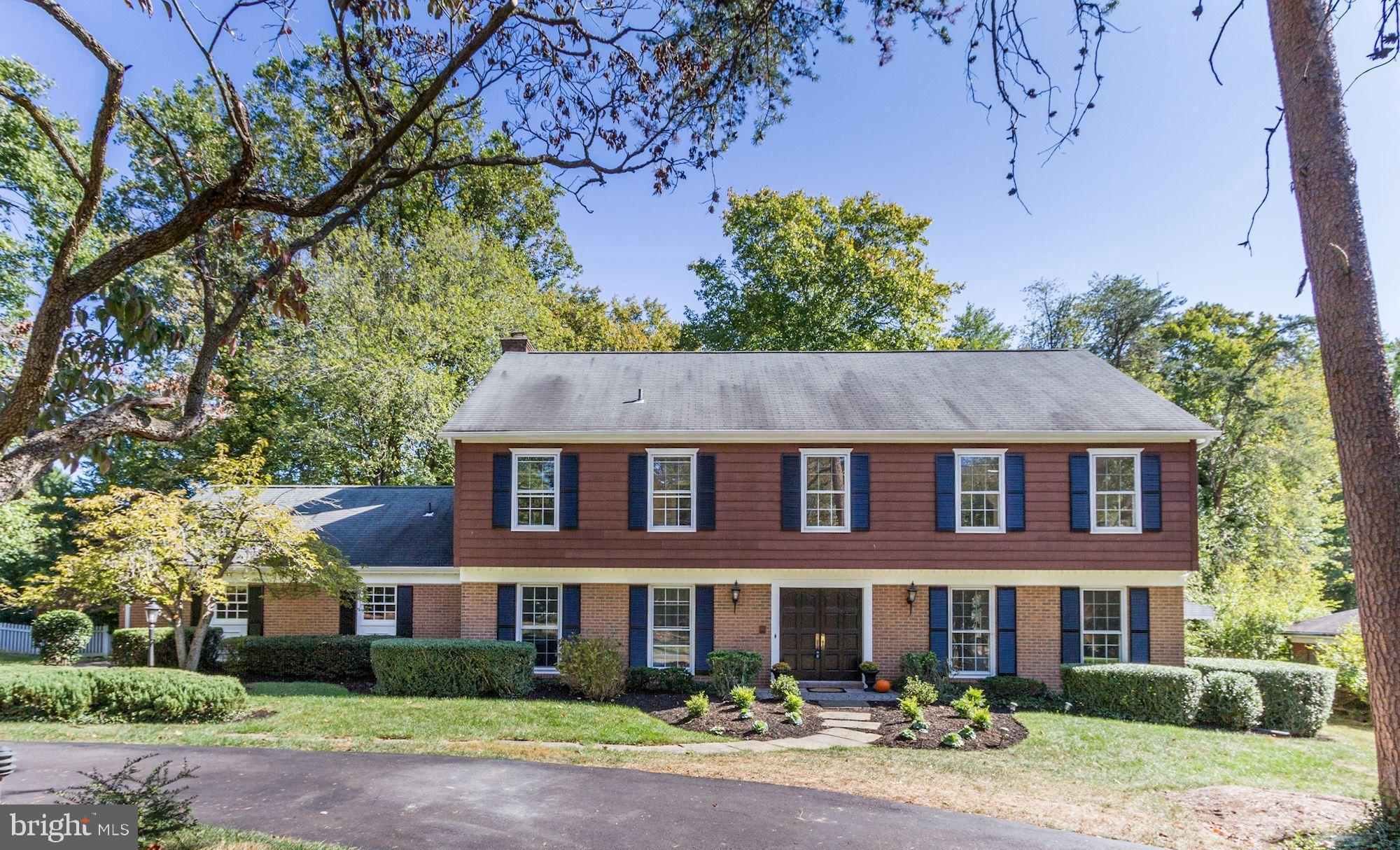 Classic  Colonial with great space and flow! Freshly painted trim & shutters, a front entrance that'