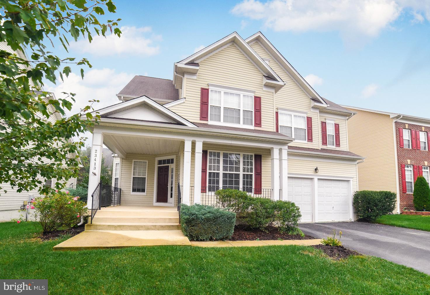 This spacious Colonial is move-in ready! Freshly painted 4 bedroom, 3.5 bath with 3000+sq ft. Beauti
