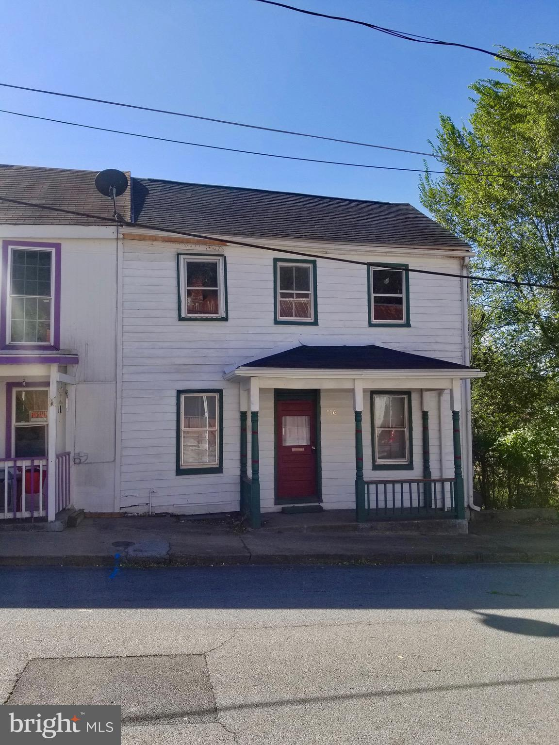 Lots of potential with this home situated in the heart of Martinsburg! Living room, kitchen, dining