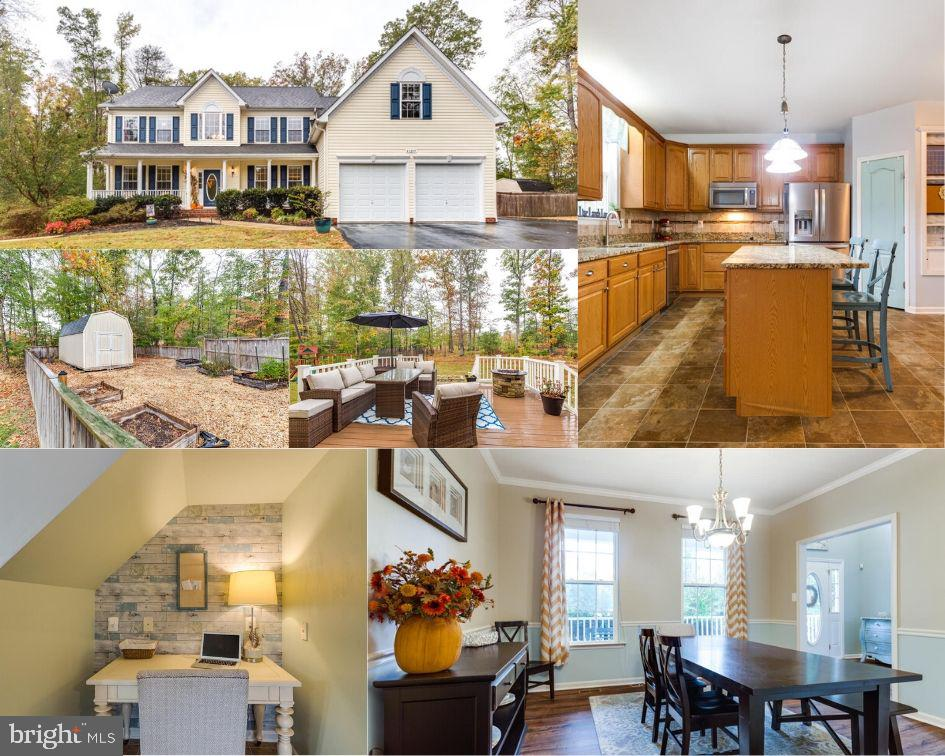 The moment you walk in, you will feel right at home! Elegant carpet-free colonial with a grand dual