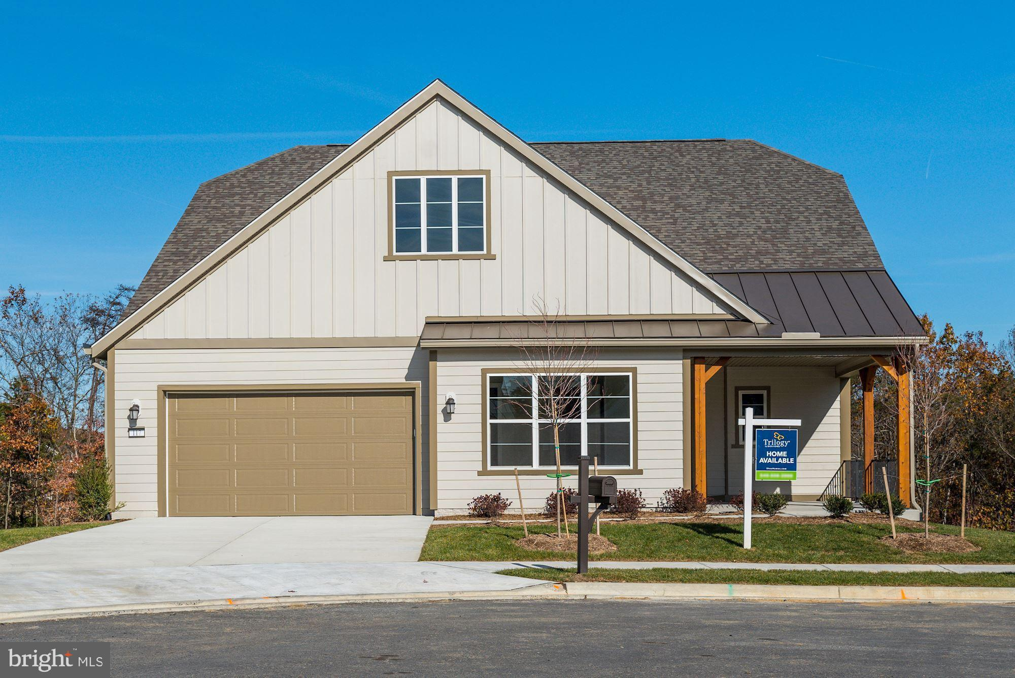 Welcome home to Trilogy at Lake Frederick with your new construction Ascend model with walkout basem