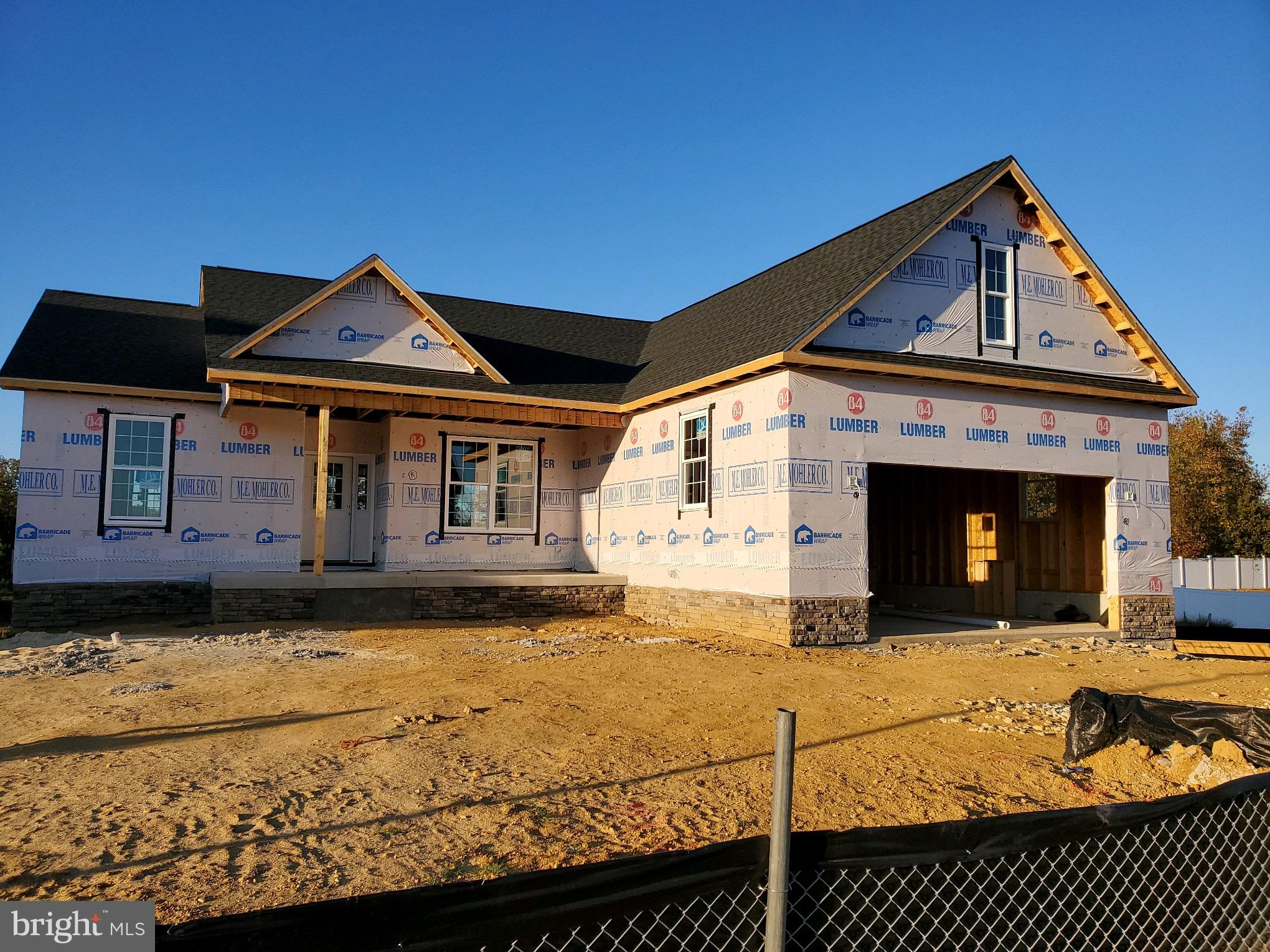 New rambler being built in Agricopia Subdivision.  Home features 3 bedrooms, large family room, kitc