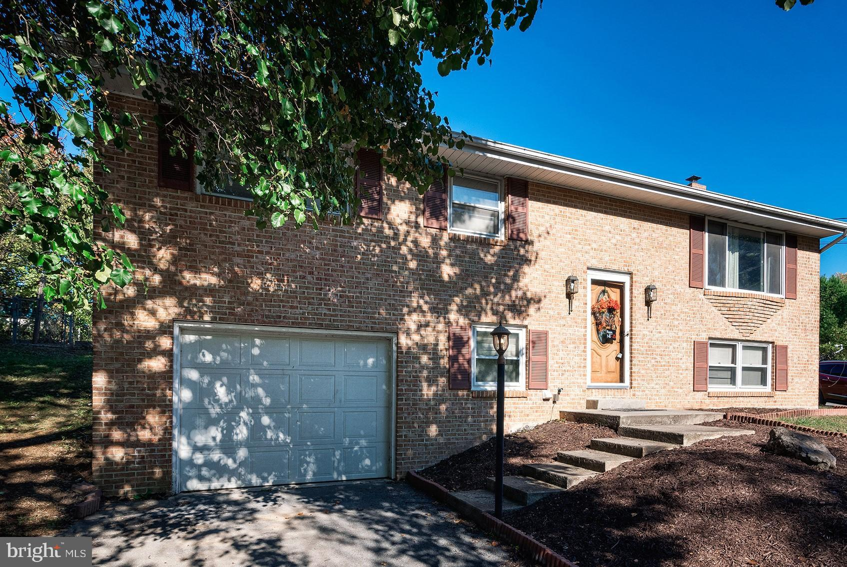 Repainted home with large fenced rear yard.  Complete the basement for additional living area.  Give