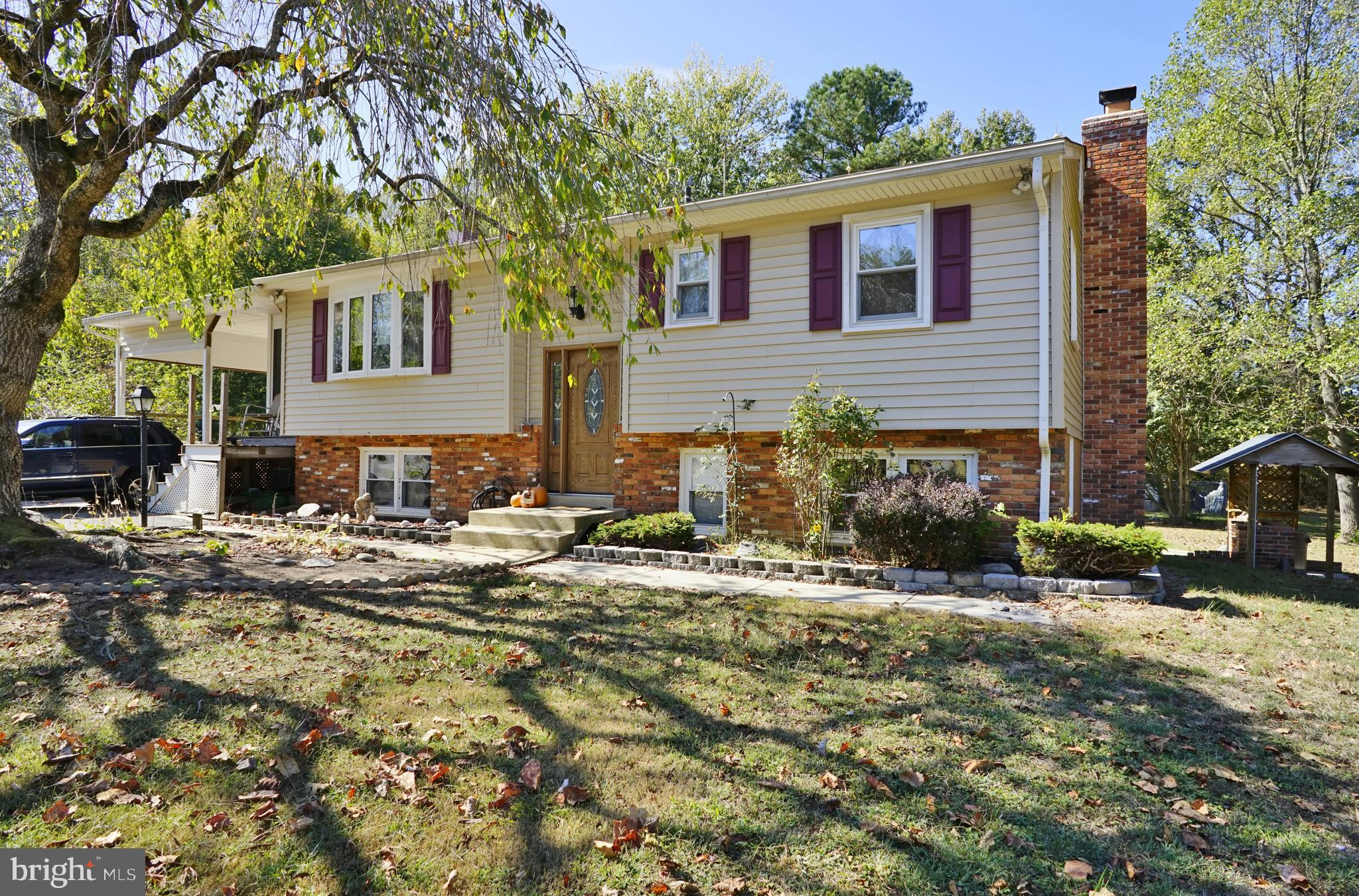 his home located in Owings rests on  a beautiful acre the  kitchen has been  completely remodeled wi