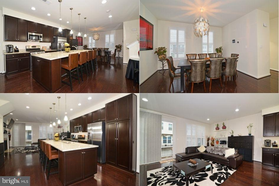 WHOA!  SUCH A BEAUTIFUL AND MODERN, CHIC AND STYLISH HOME!  A TRULY-OPEN CONCEPT WITH CENTER KITCHEN