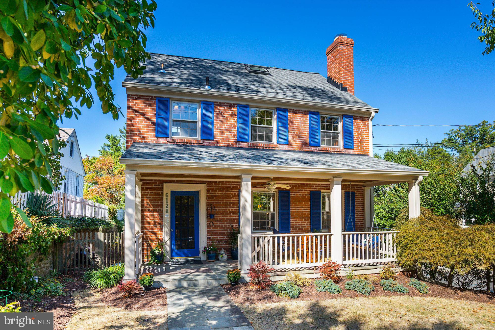 Welcome home to this beautifully renovated, sun-filled brick Colonial home in the heart of Barnaby W